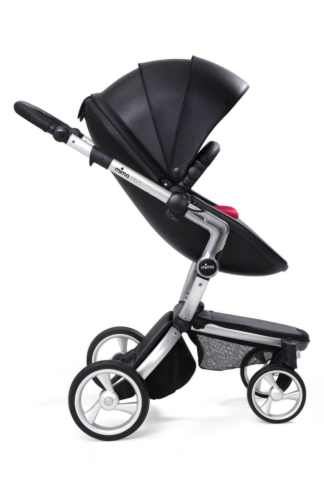 Alternate Image 4  - Mima Xari Aluminum Chassis Stroller with Reversible Reclining Seat & Carrycot