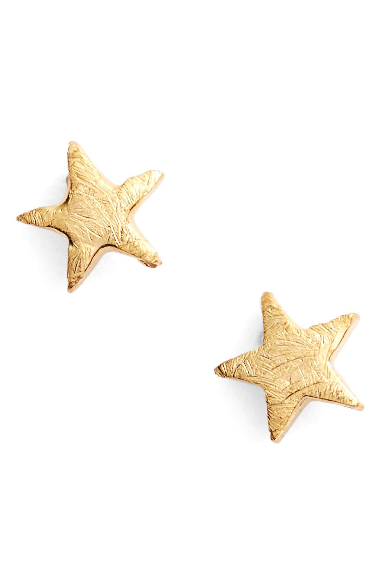 Alternate Image 1 Selected - Estella Bartlett Bright Star Mini Stud Earrings