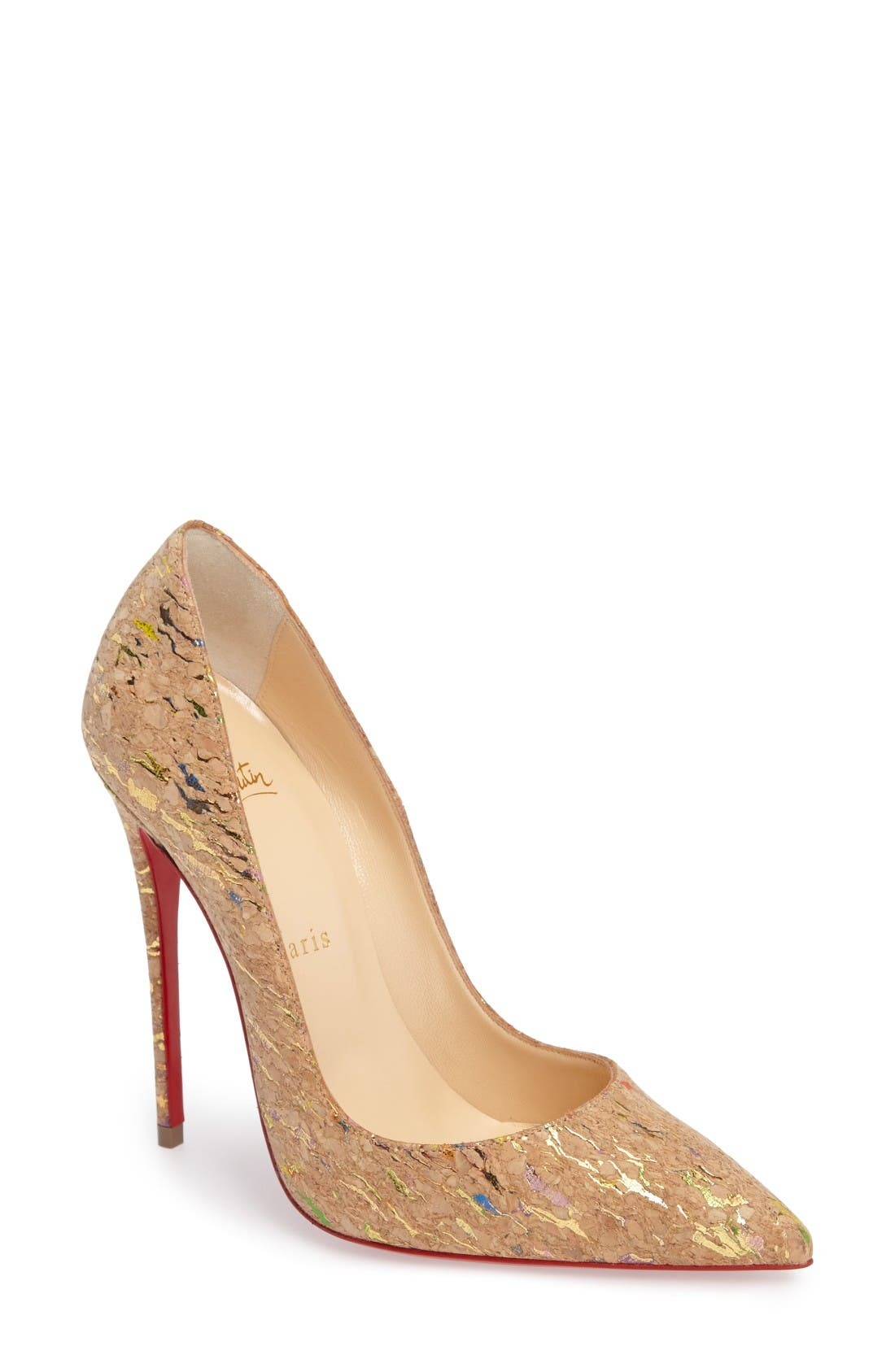 Alternate Image 1 Selected - Christian Louboutin 'So Kate' Pointy Toe Pump (Women)