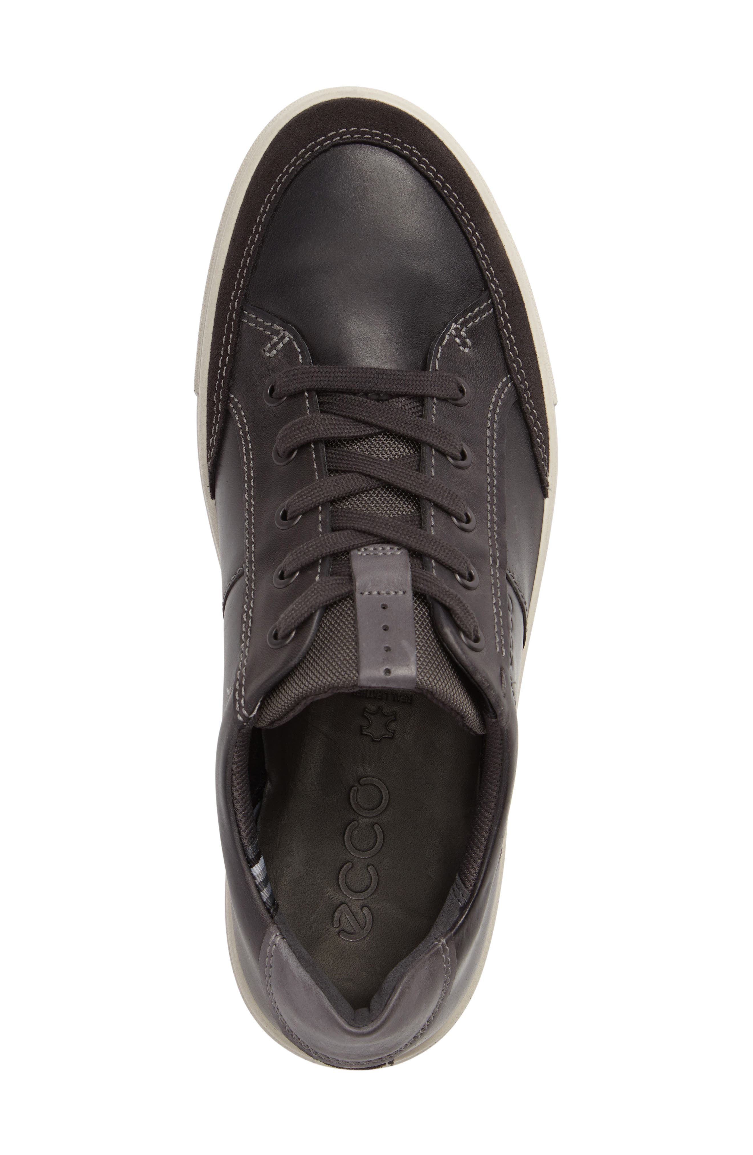 Kyle Classic Sneaker,                             Alternate thumbnail 3, color,                             Moonless Leather