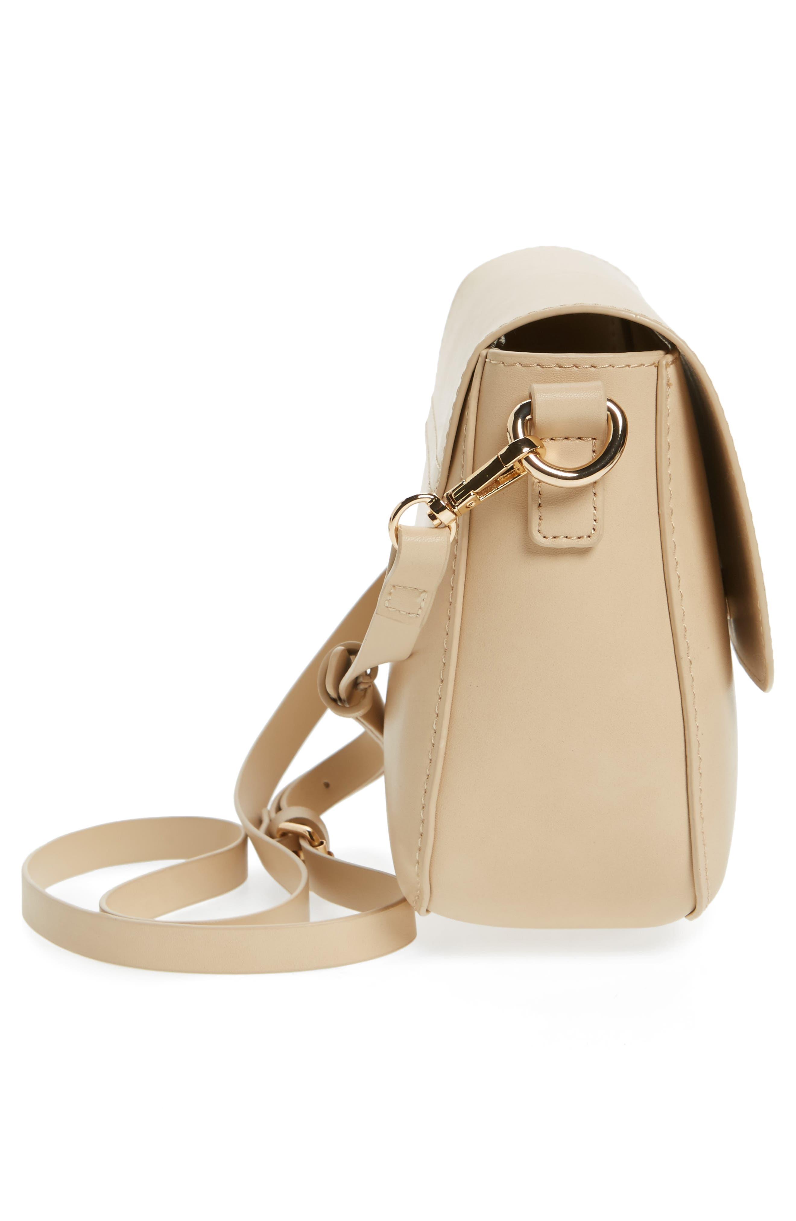 Alternate Image 5  - BP. Minimal Faux Leather Crossbody Bag