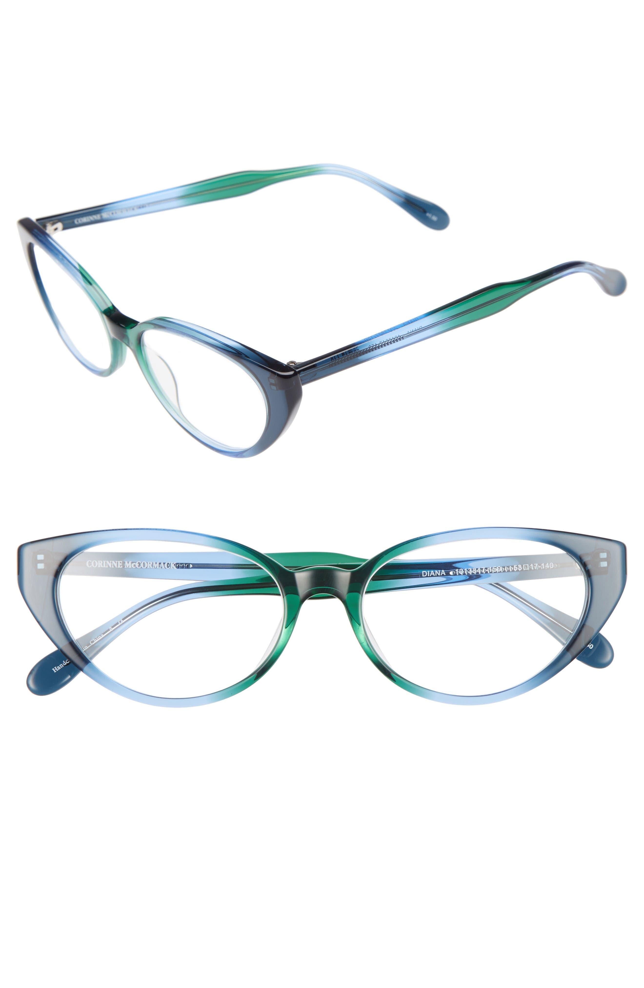 Corinne McCormack Diana 53mm Cat Eye Reading Glasses