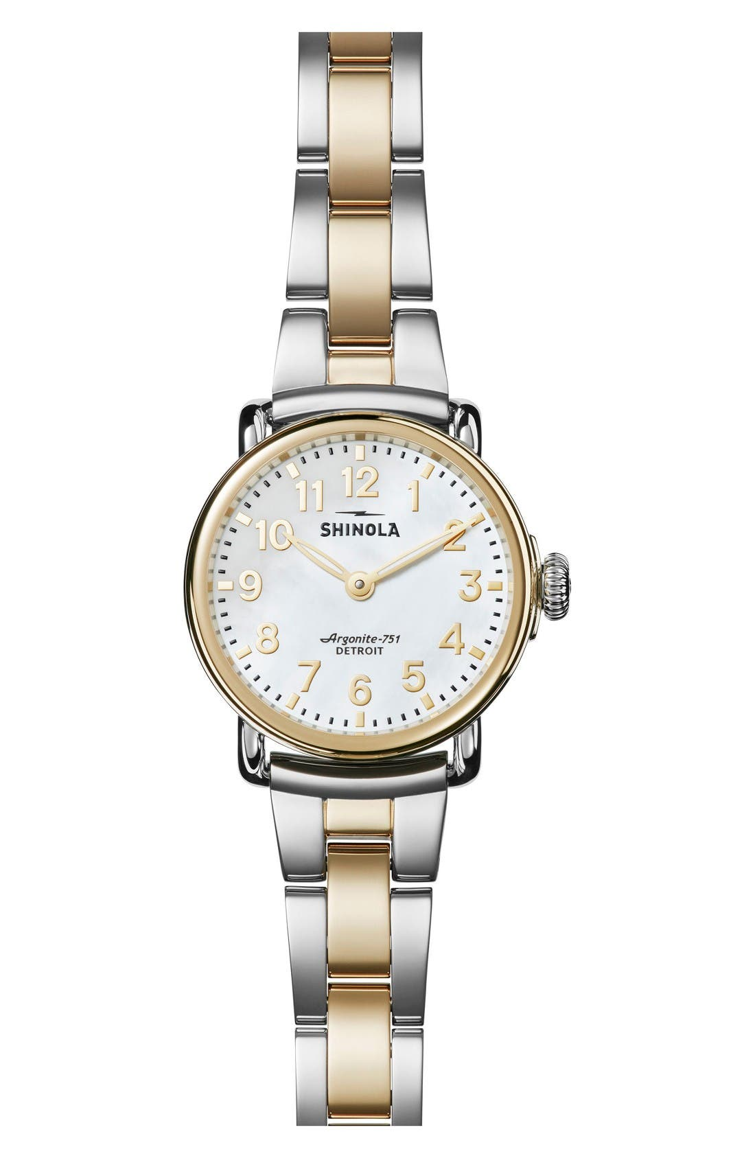 Runwell Bracelet Watch, 28mm,                         Main,                         color, Gold/ Silver