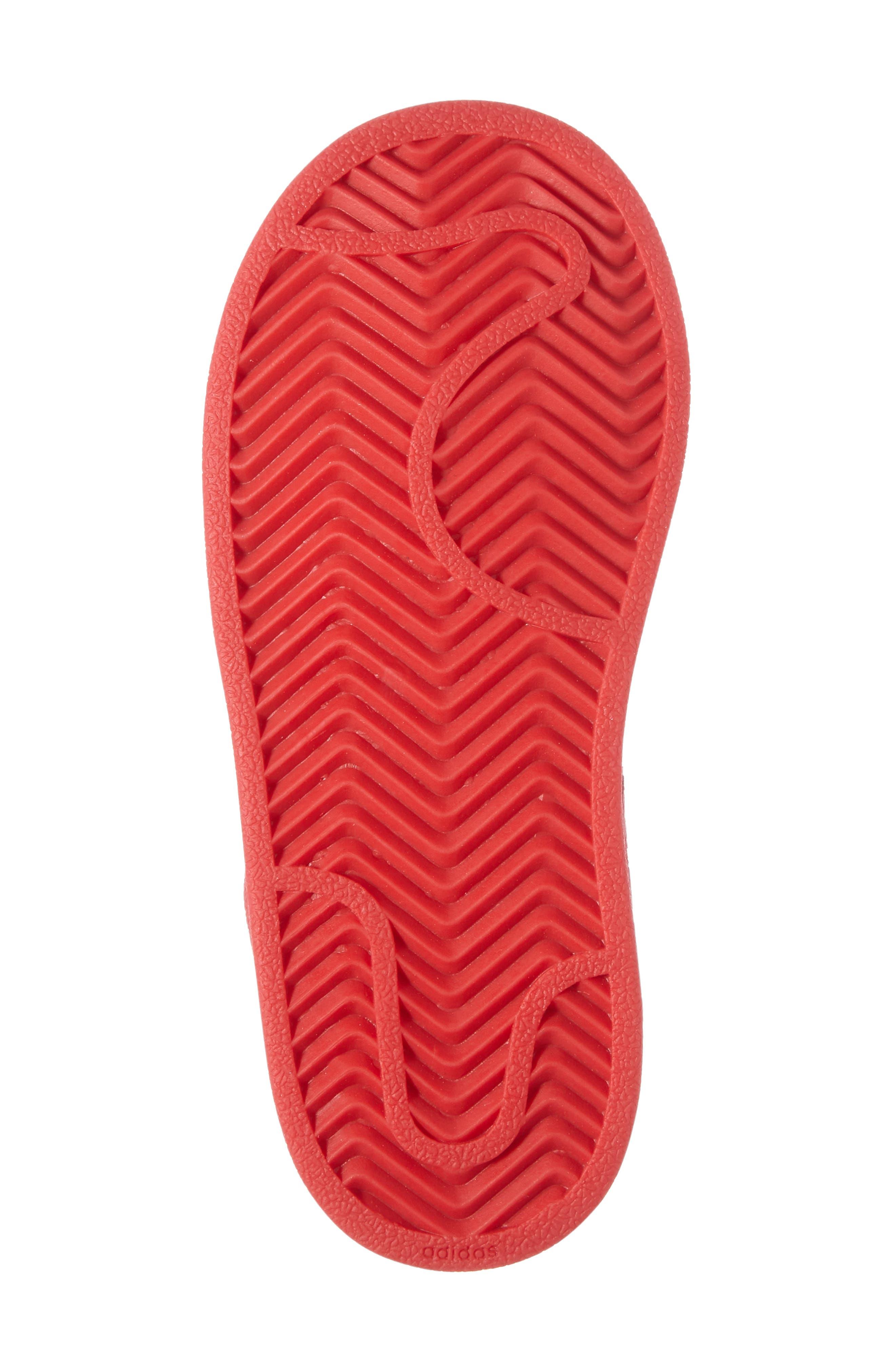 Alternate Image 4  - adidas Superstar Sneaker (Baby, Walker & Toddler)