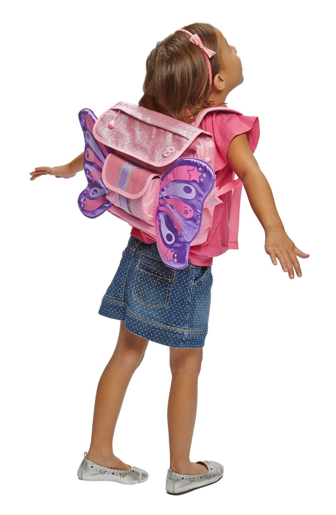Alternate Image 2  - Bixbee 'Small Sparkalicious Butterflyer' Backpack (Kids)