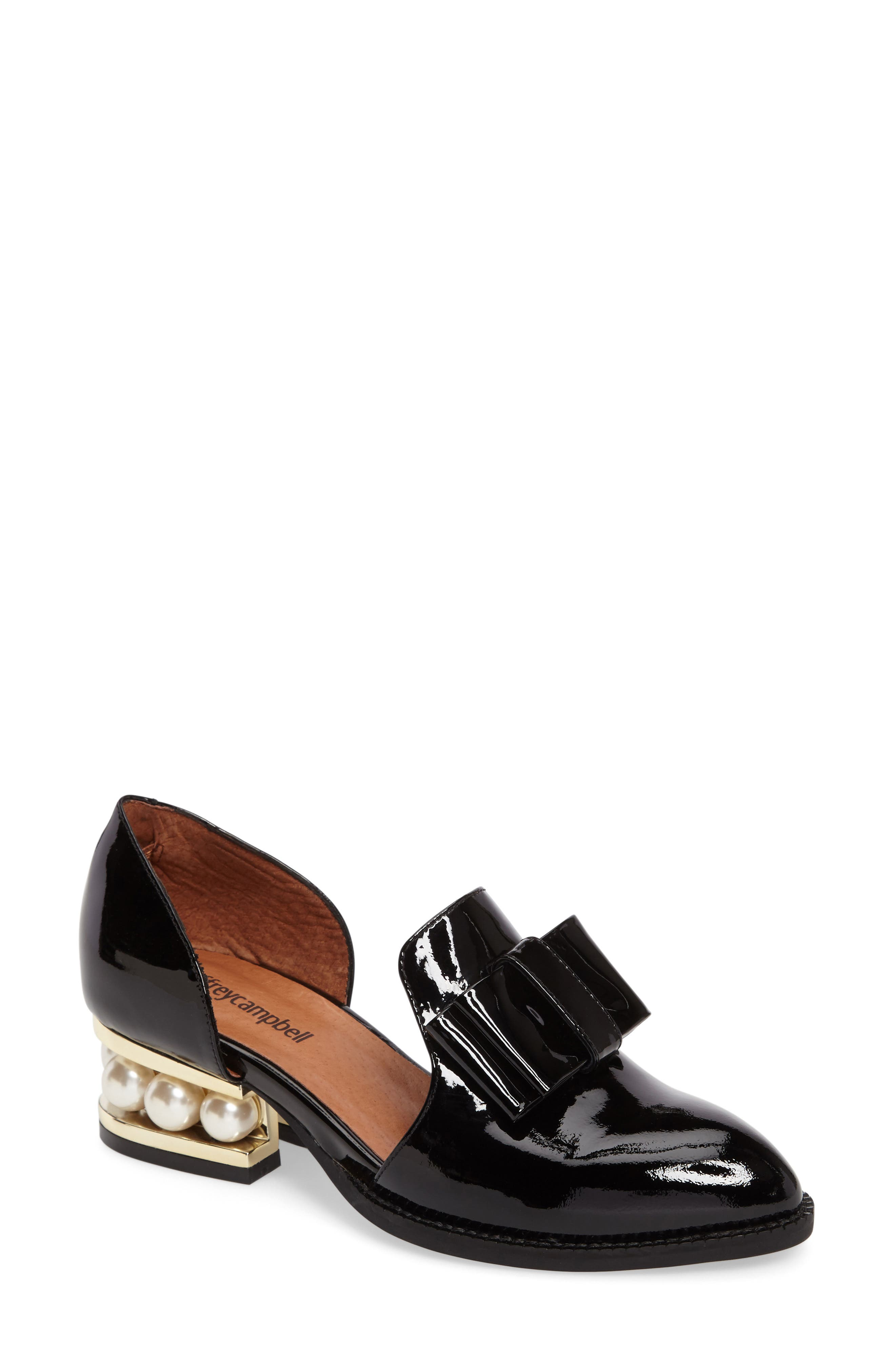 Alternate Image 1 Selected - Jeffrey Campbell Lawbow Loafer (Women)