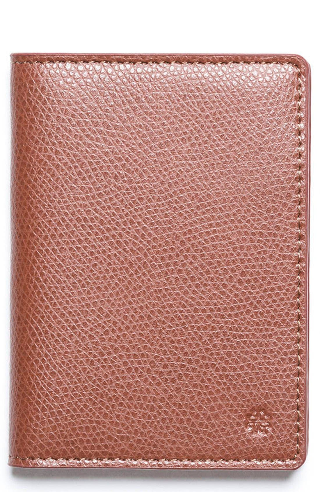 hook + ALBERT Vertical Leather Wallet