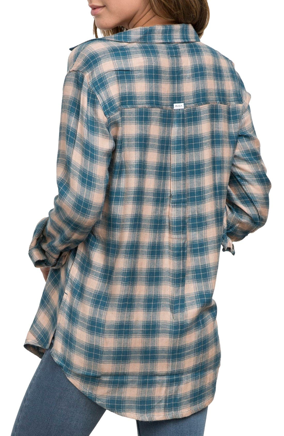 York Plaid Shirt,                             Alternate thumbnail 2, color,                             Simply Taupe