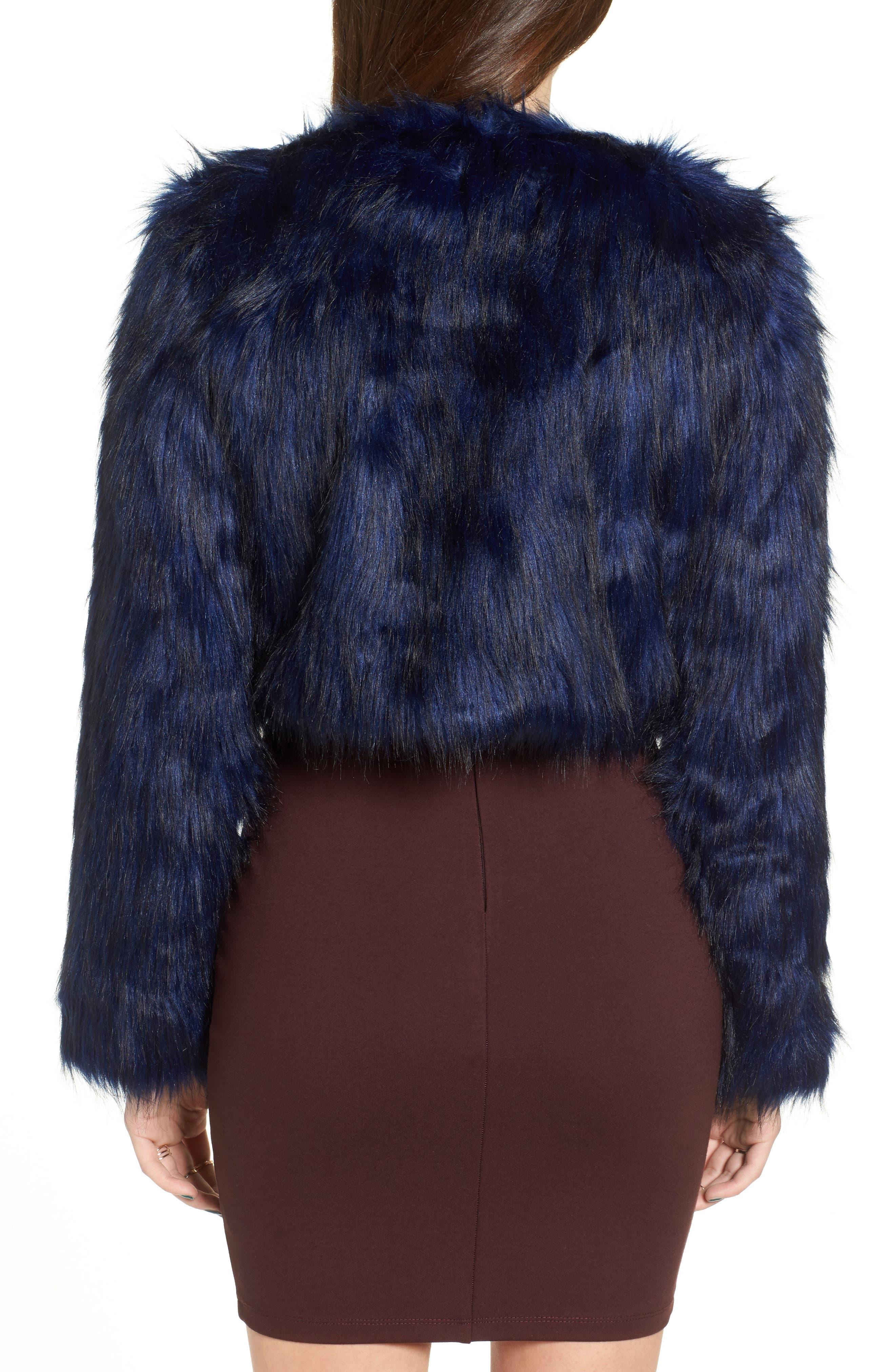 Alternate Image 2  - Fire Faux Fur Jacket