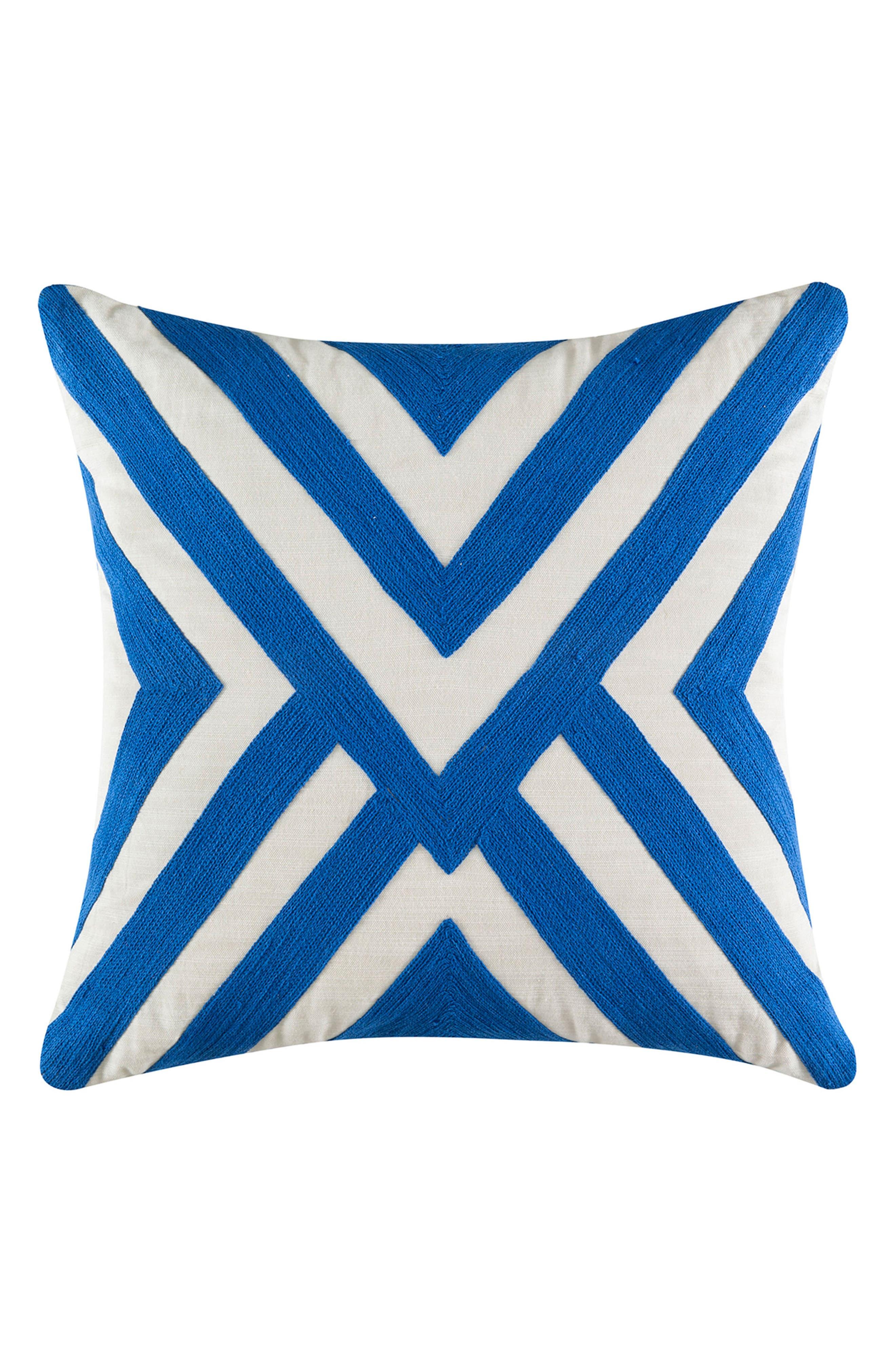 Riley Mindi Pillow,                         Main,                         color, Blue
