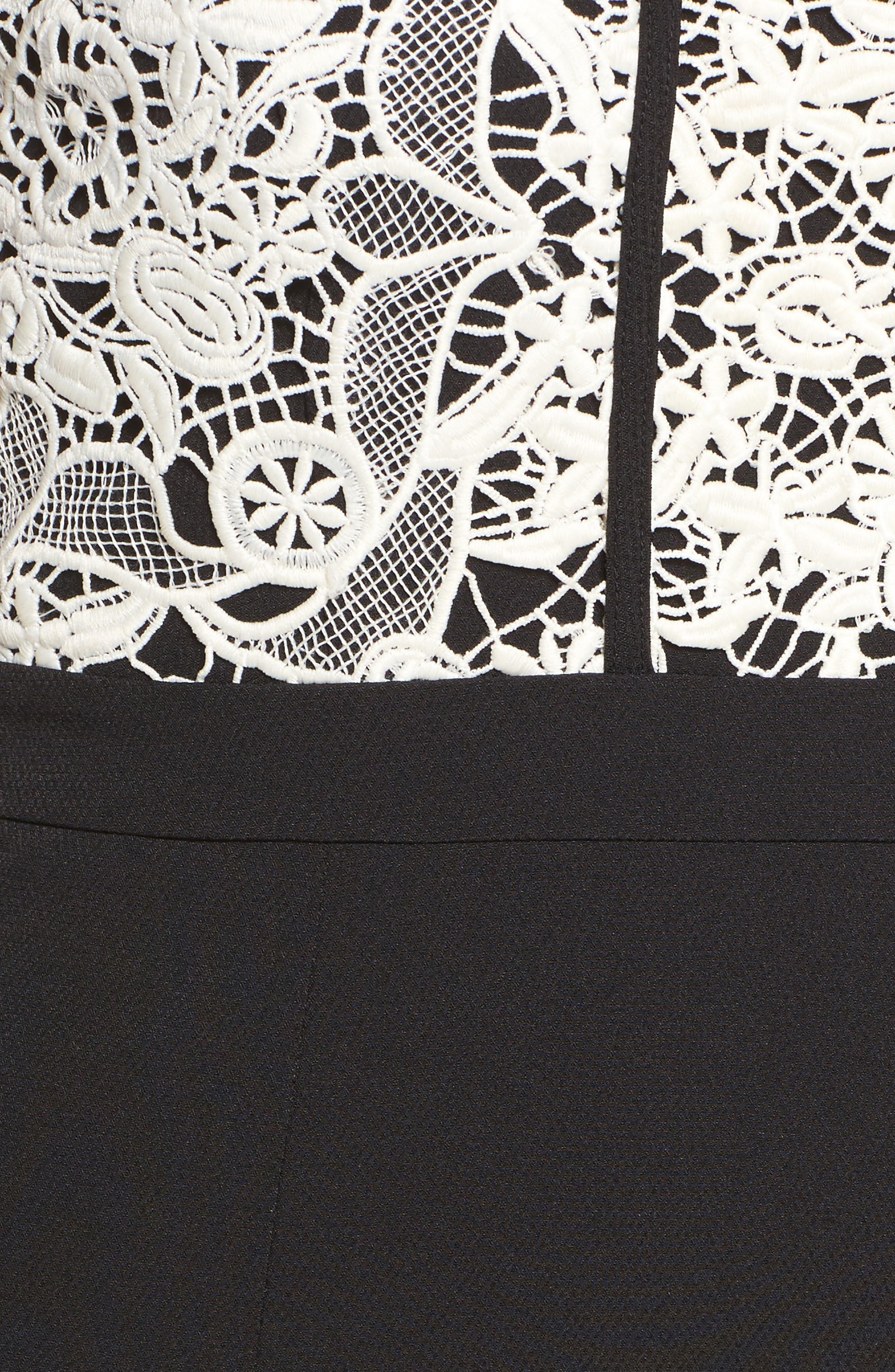 Alternate Image 5  - Cooper St Palatial Lace Midi Dress