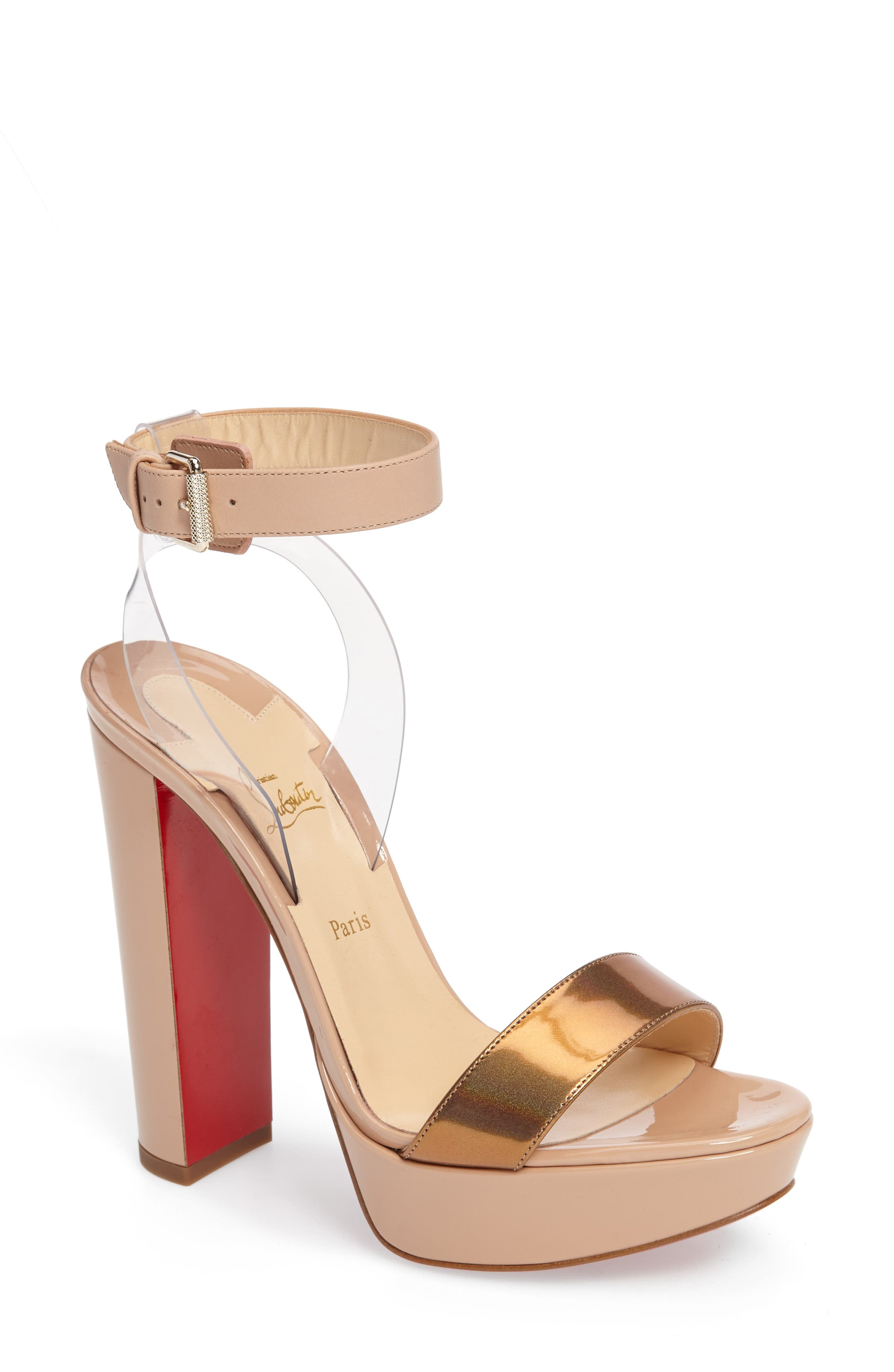 Alternate Image 1 Selected - Christian Louboutin Cherry Sandal (Women)