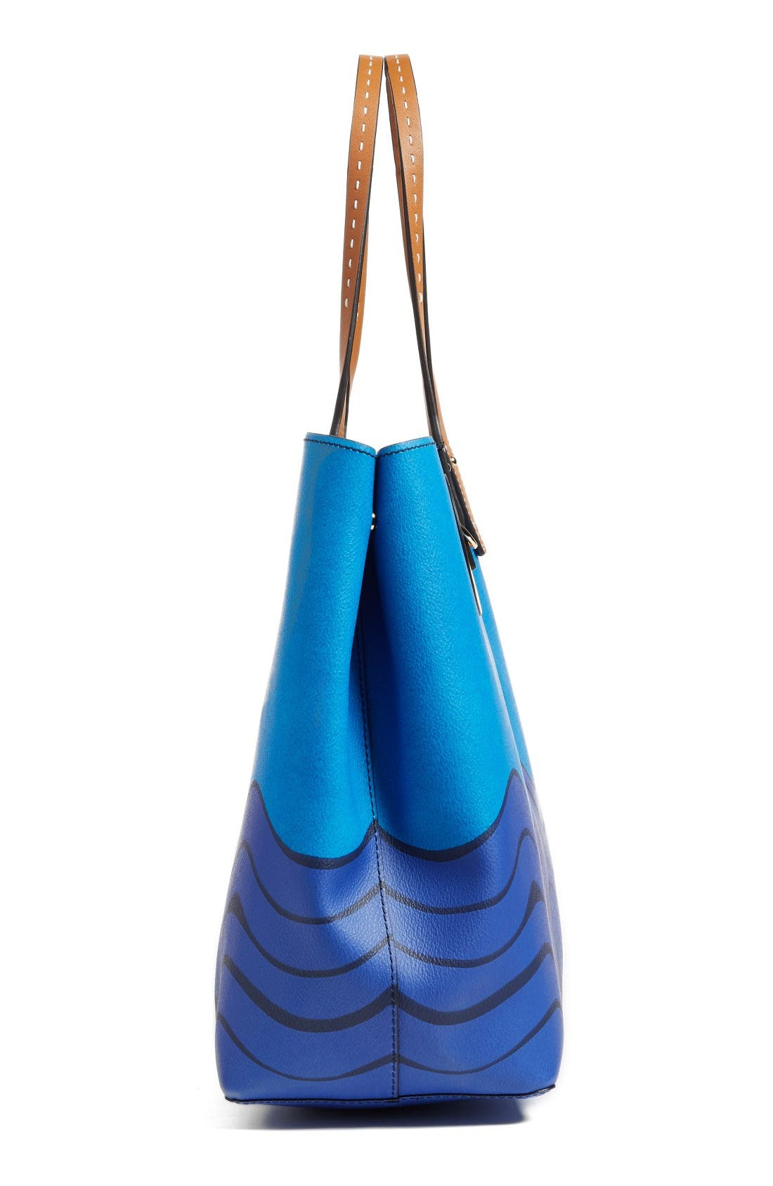 Alternate Image 5  - Tory Burch Kerrington Parrot Coated Canvas Tote