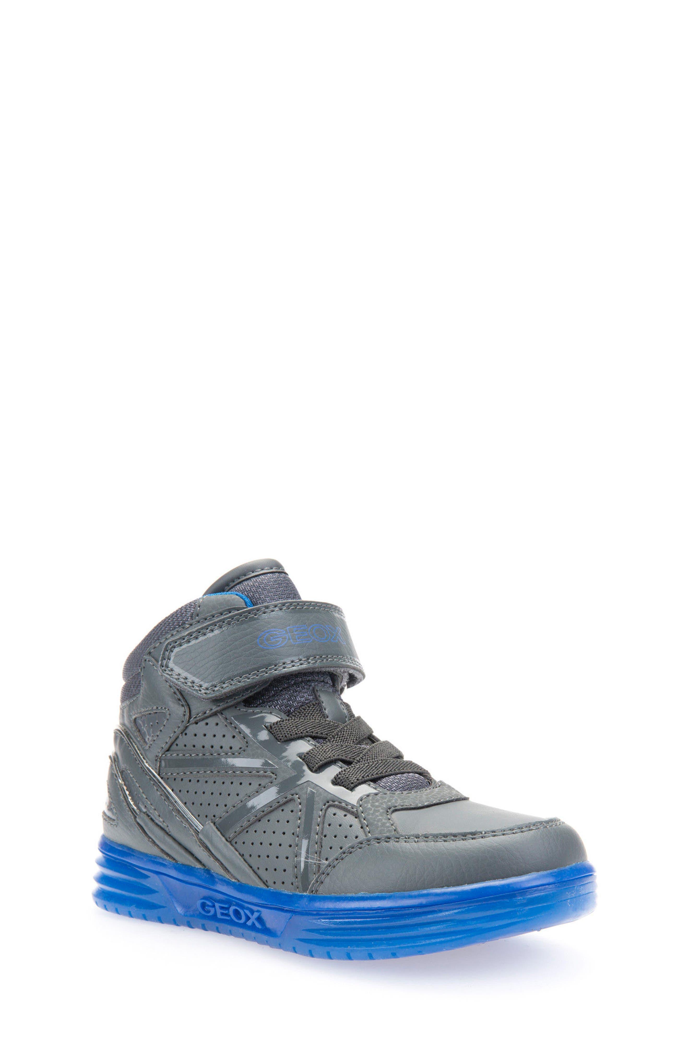 Argonat High Top Sneaker,                         Main,                         color, Dark Grey/ Royal