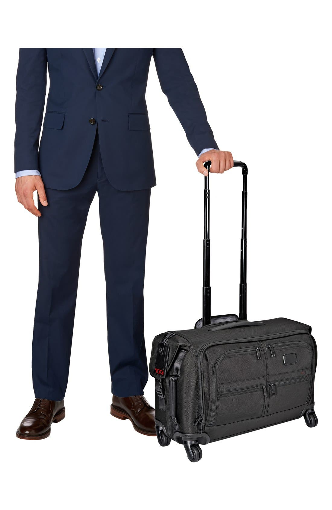Alternate Image 6  - Tumi 'Alpha 2' Wheeled Carry-On Garment Bag (22 Inch)