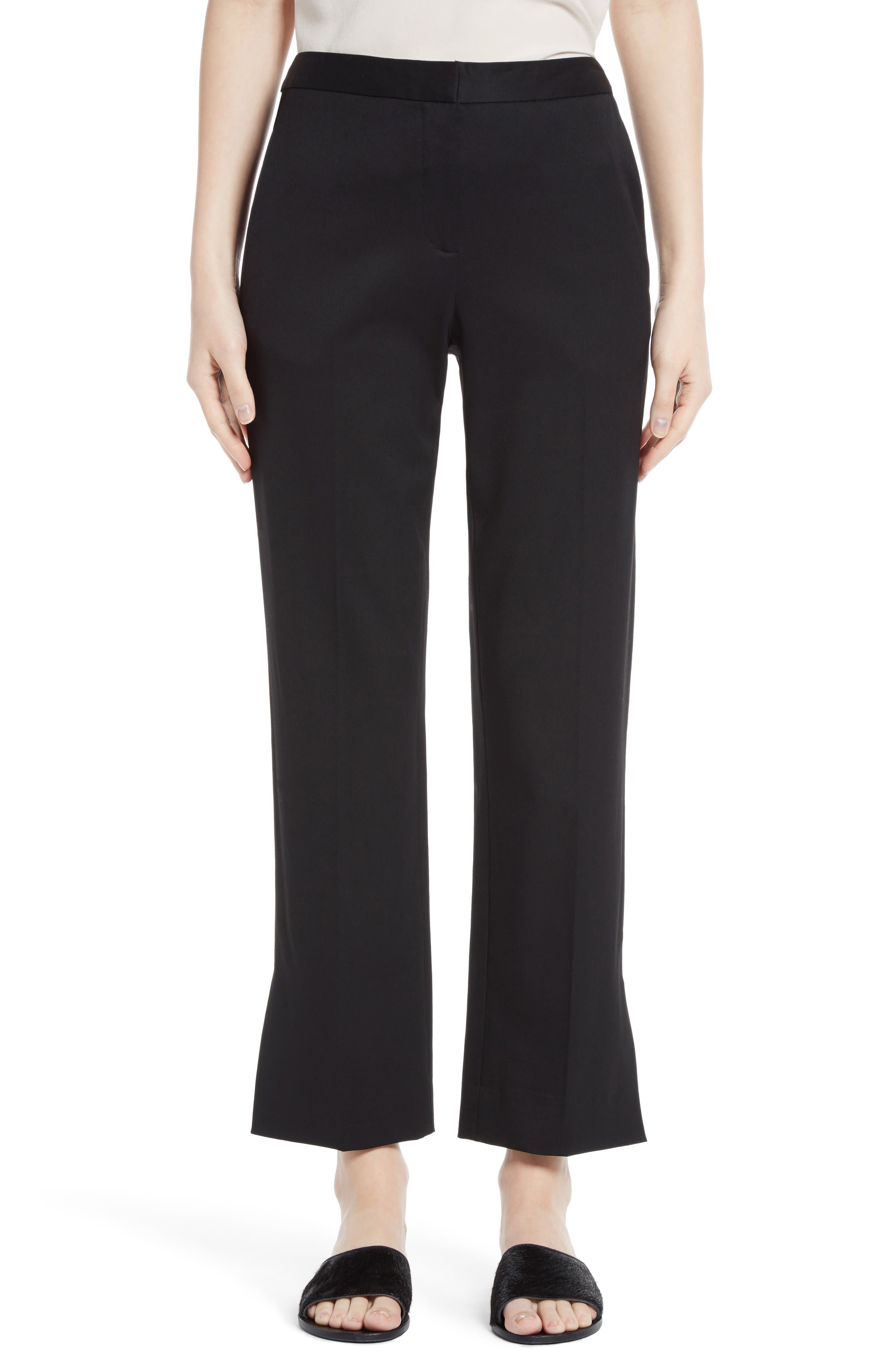 GREY Jason Wu Split Hem Straight Leg Pants