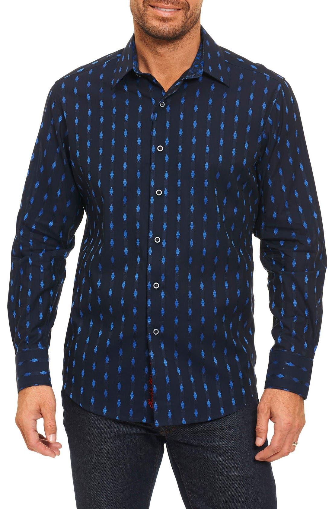 Kumar Sport Shirt,                         Main,                         color, Blue
