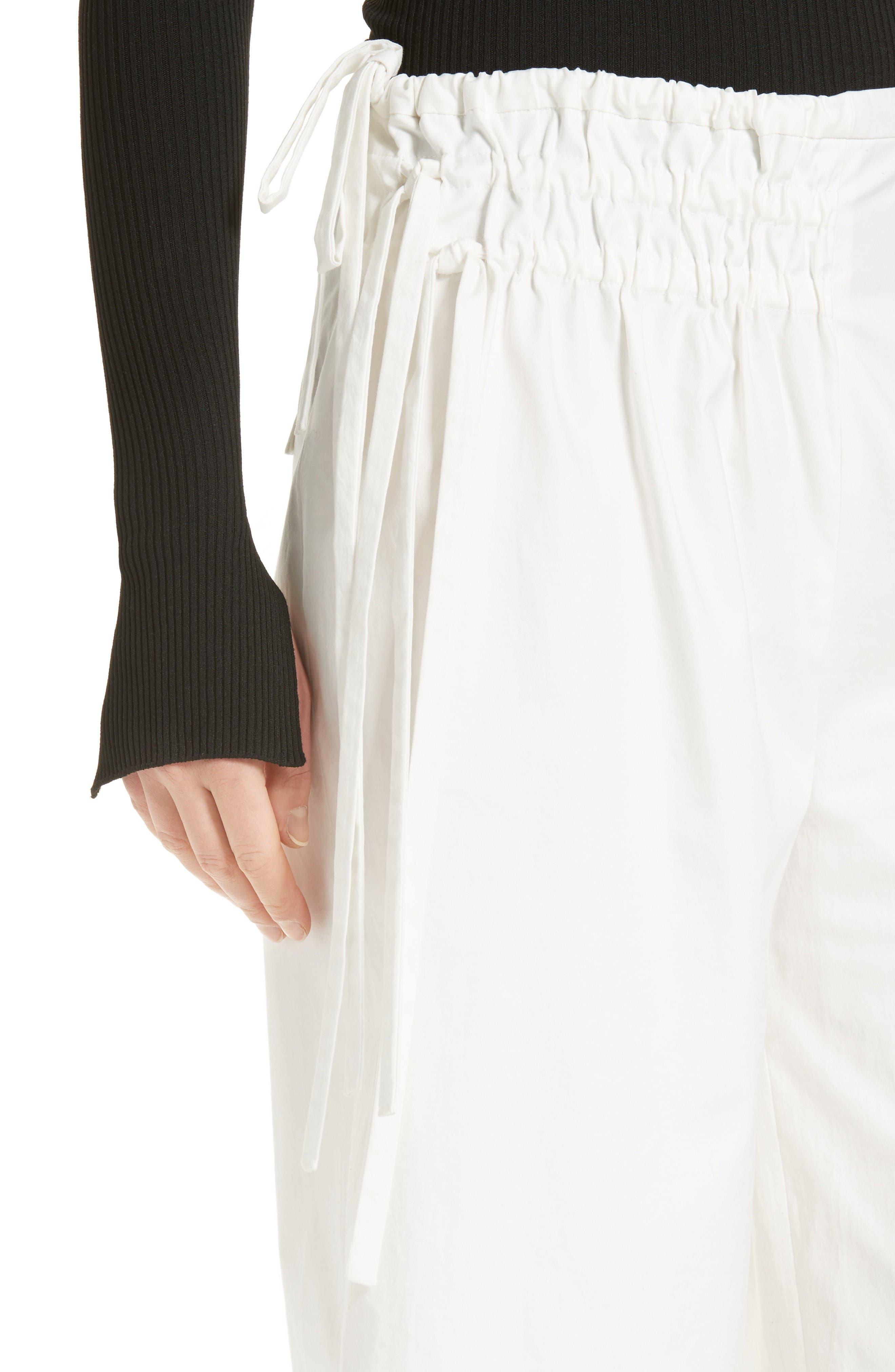 Alternate Image 5  - Tibi Esteban Crop Twill Pants