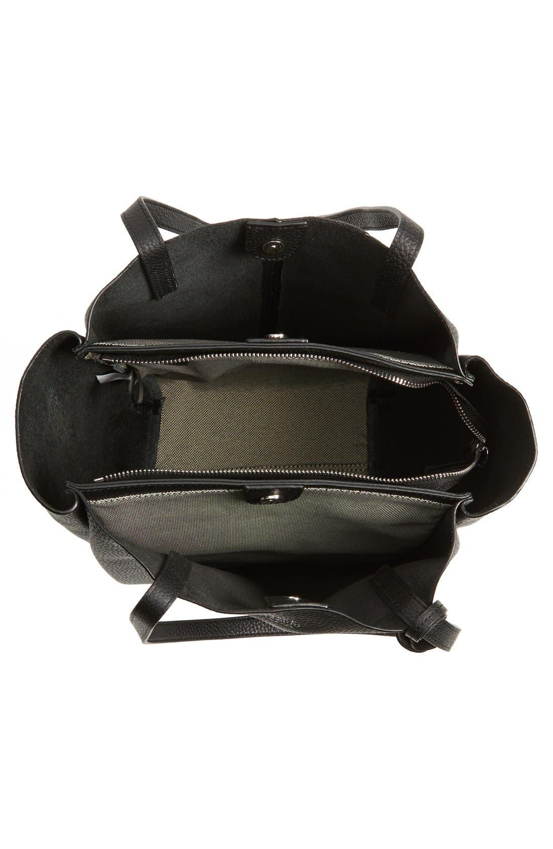 Alternate Image 4  - Vince Camuto Small Taja Leather Tote with Tassel Charm