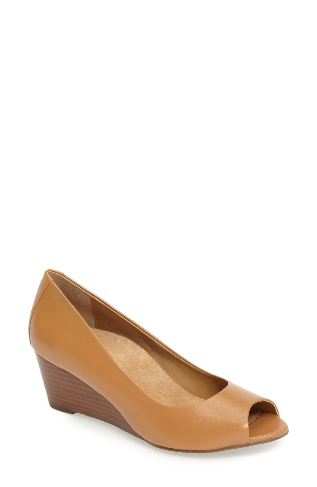 Alternate Image 1 Selected - Vionic Bria Wedge Pump (Women)