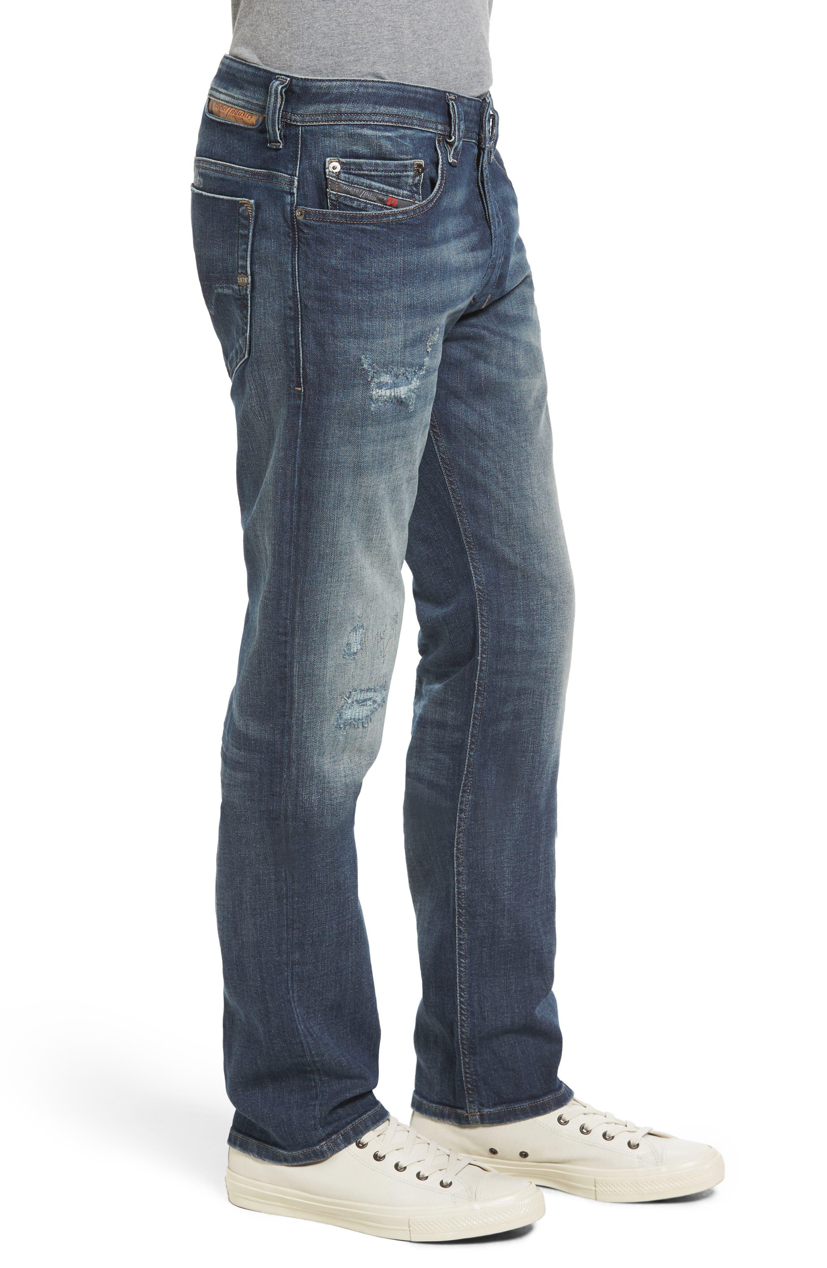 Safado Slim Straight Fit Jeans,                             Alternate thumbnail 3, color,                             860K