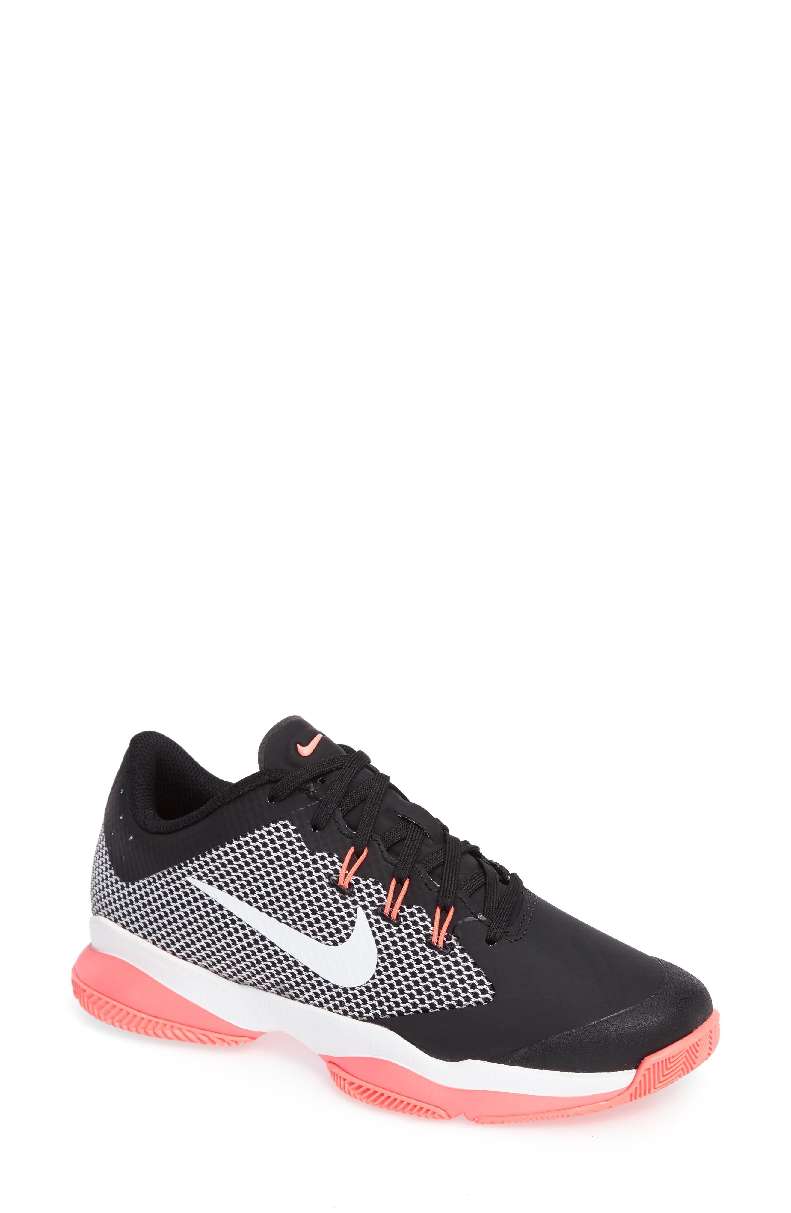 Alternate Image 1 Selected - Nike Court Air Zoom Ultra Tennis Shoe (Women)