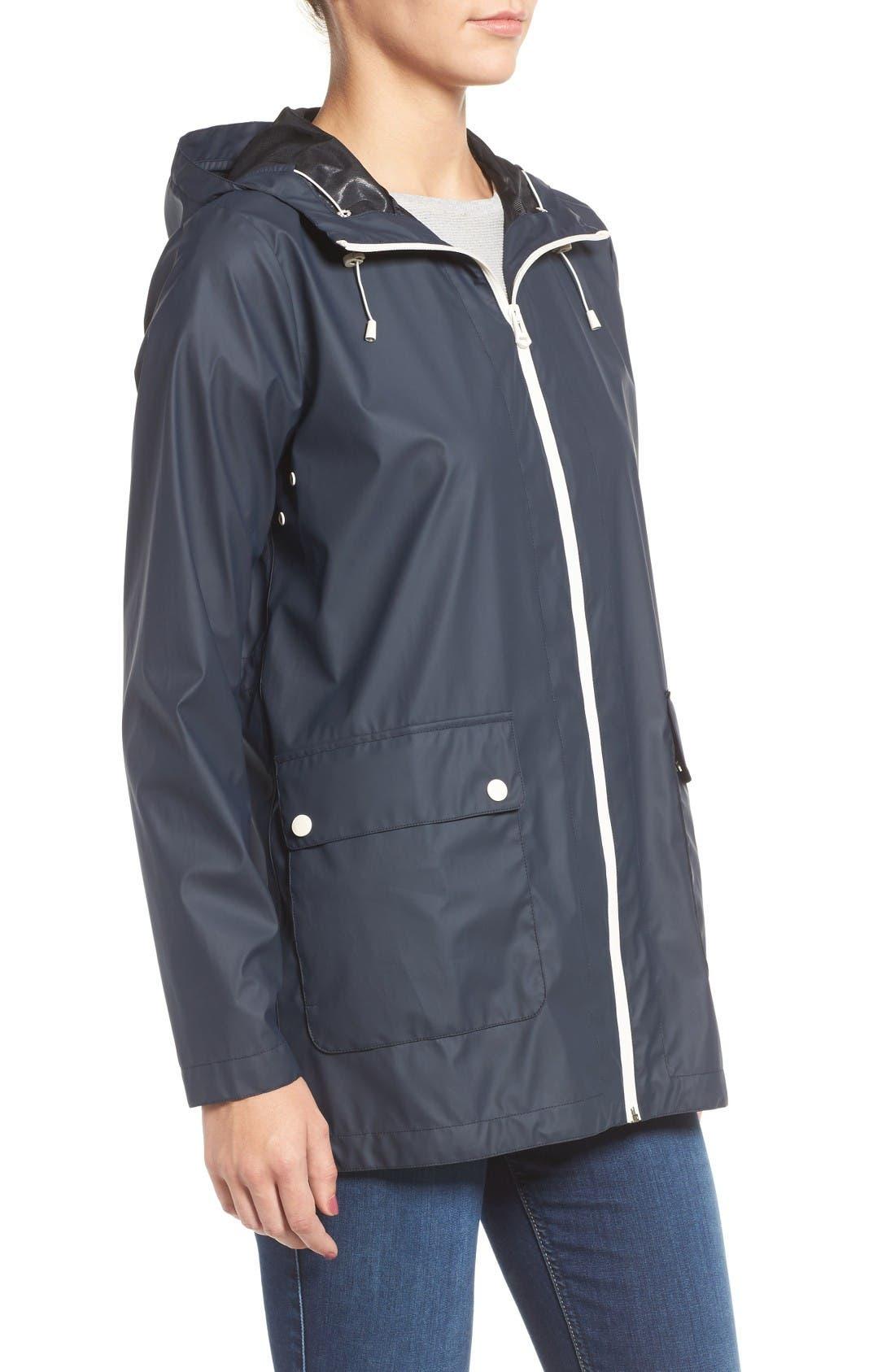 Alternate Image 3  - Cole Haan Hooded Rain Jacket