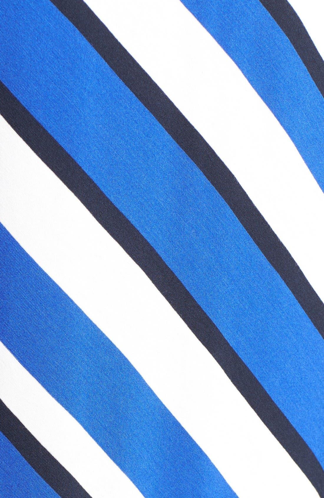 Alternate Image 5  - City Chic Stripe Maxi Dress (Plus Size)
