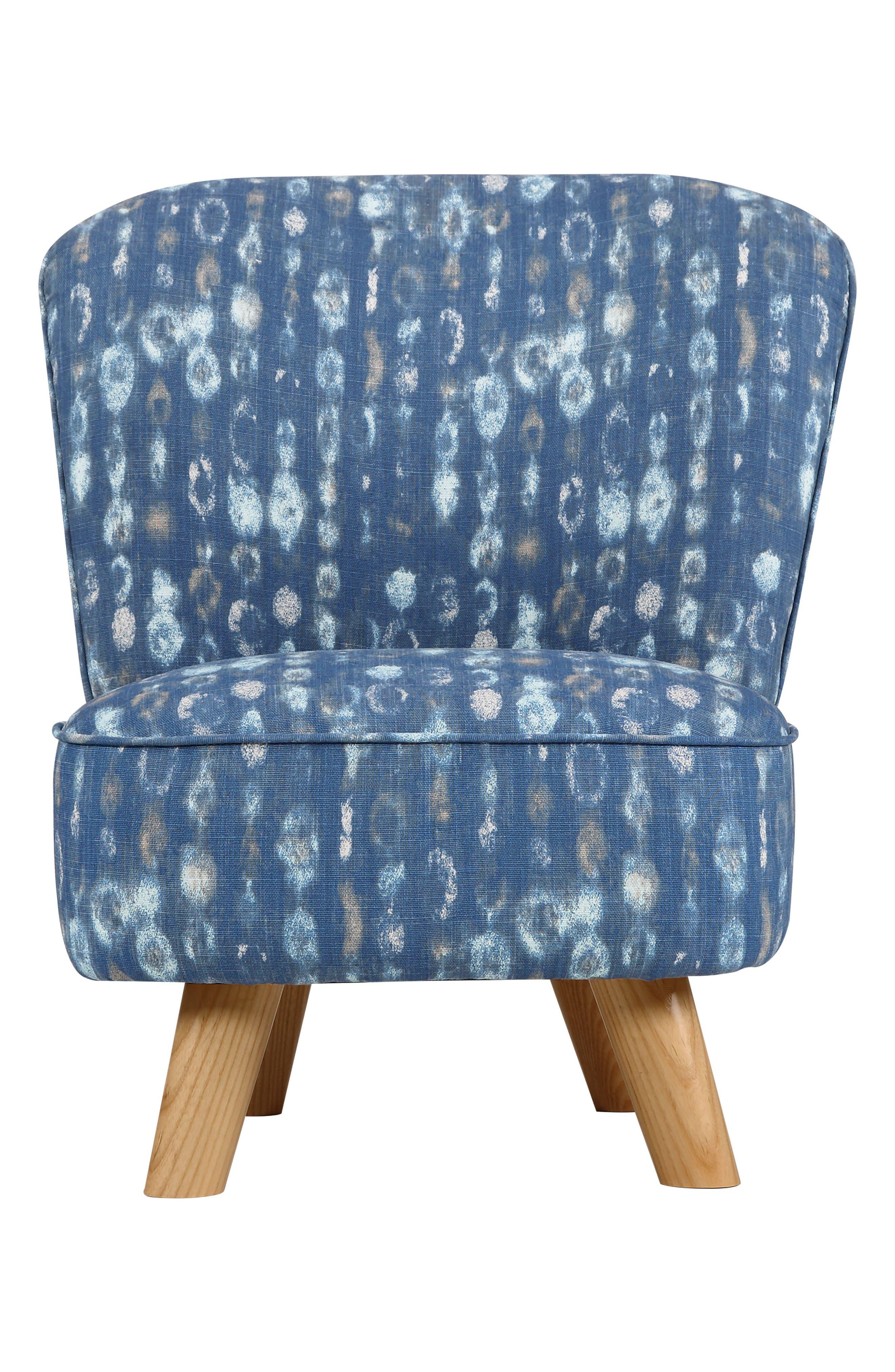Pop Mini Chair,                         Main,                         color, Indigo Blue