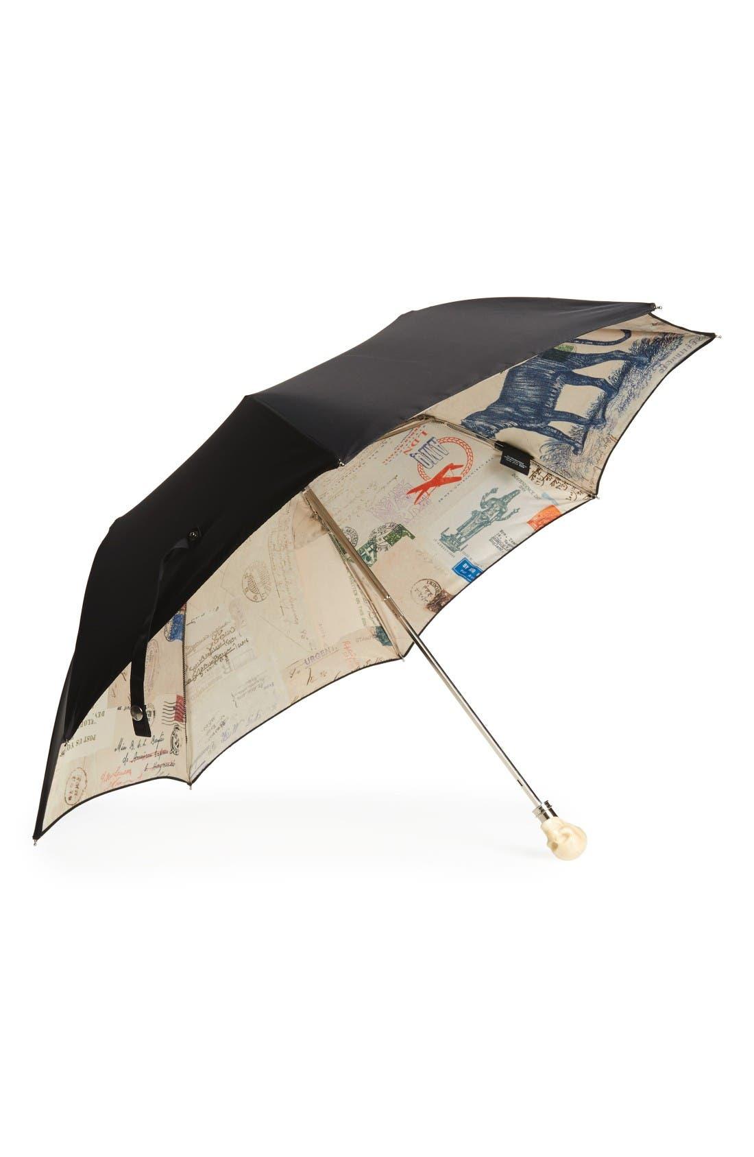 Main Image - Alexander McQueen Cards from India Umbrella