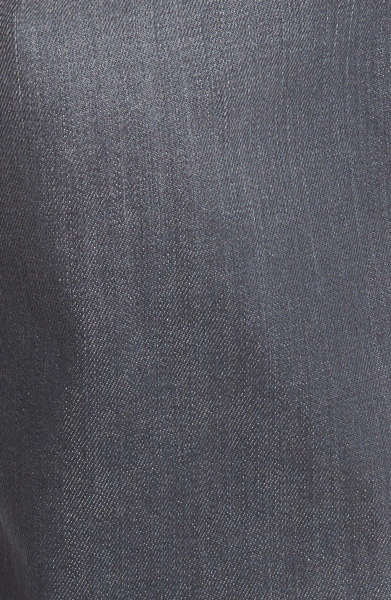 Alternate Image 6  - Fidelity Denim Impala Straight Leg Jeans (River Dark)