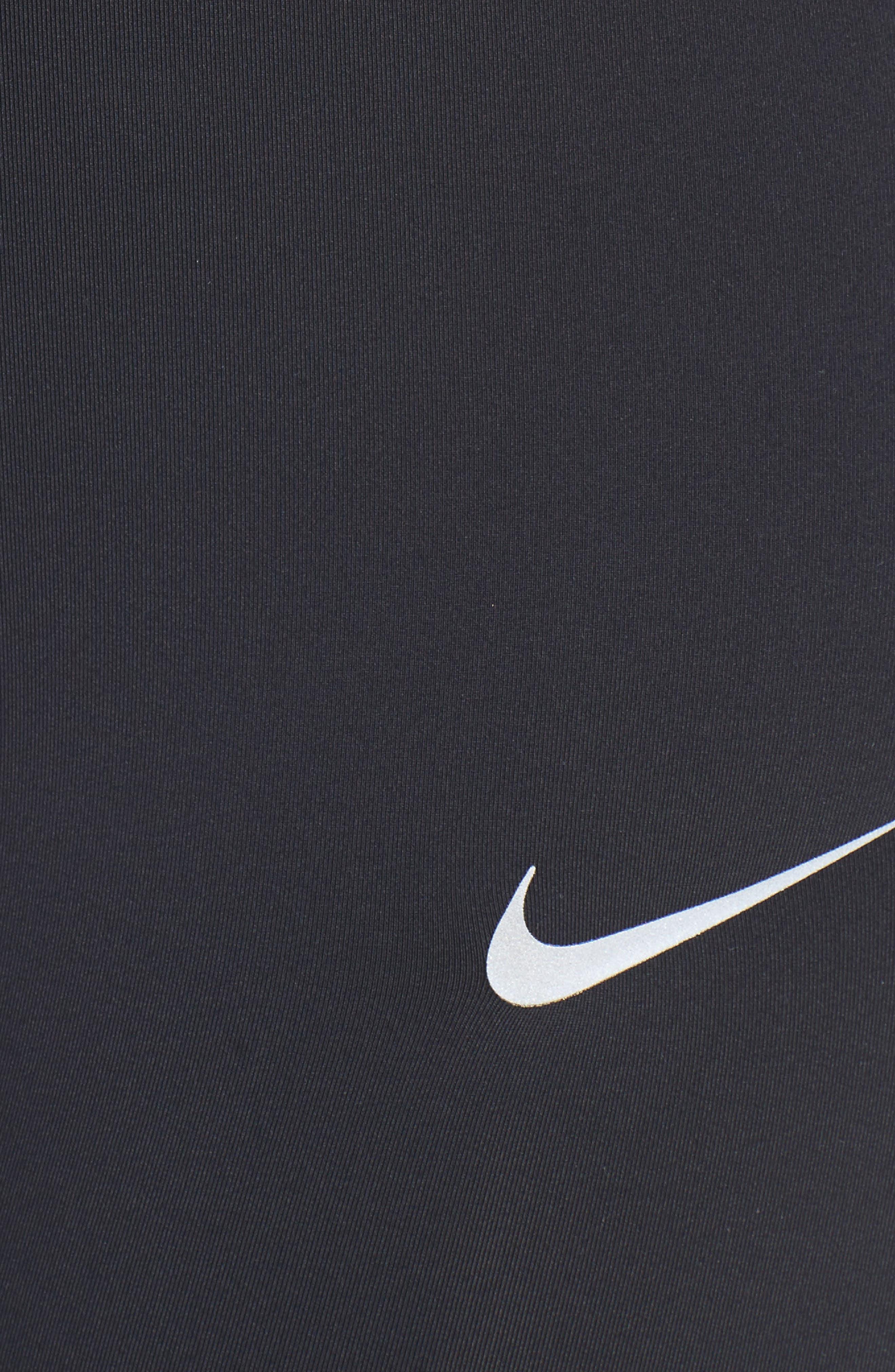 Alternate Image 5  - Nike Power Epic Crop Run Tights (Plus Size)