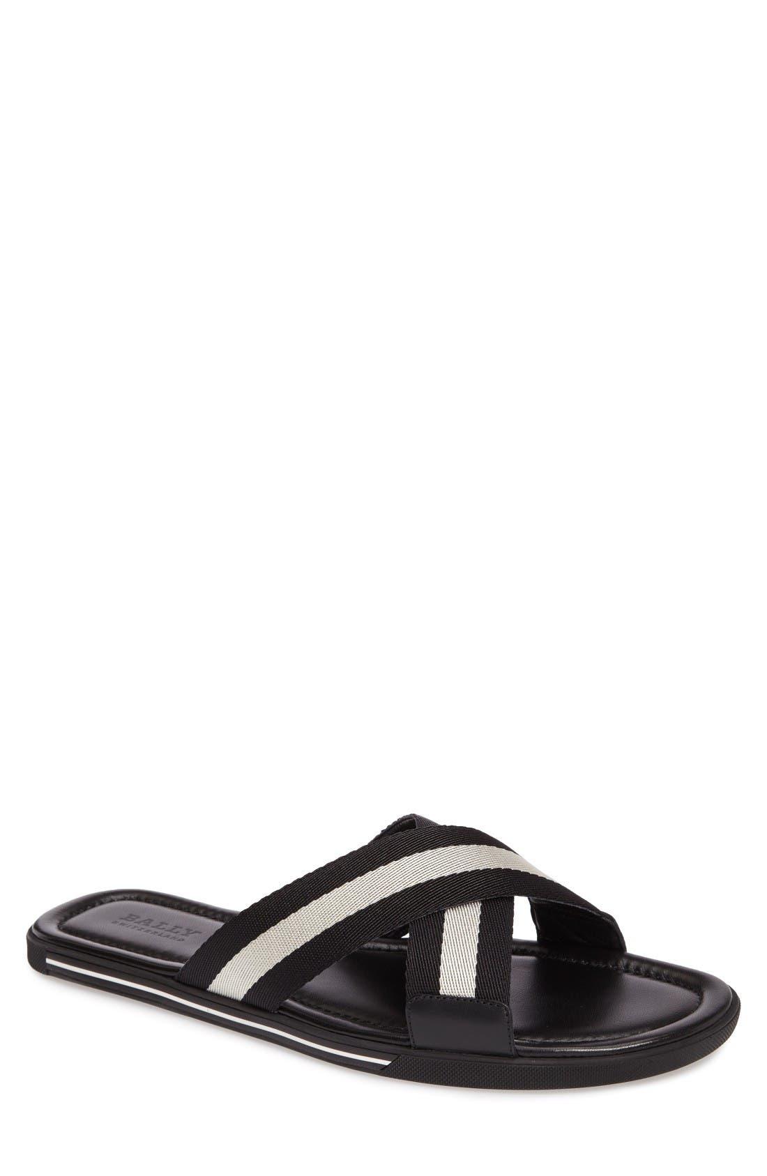 Bally Bonks Slide Sandal (Men)