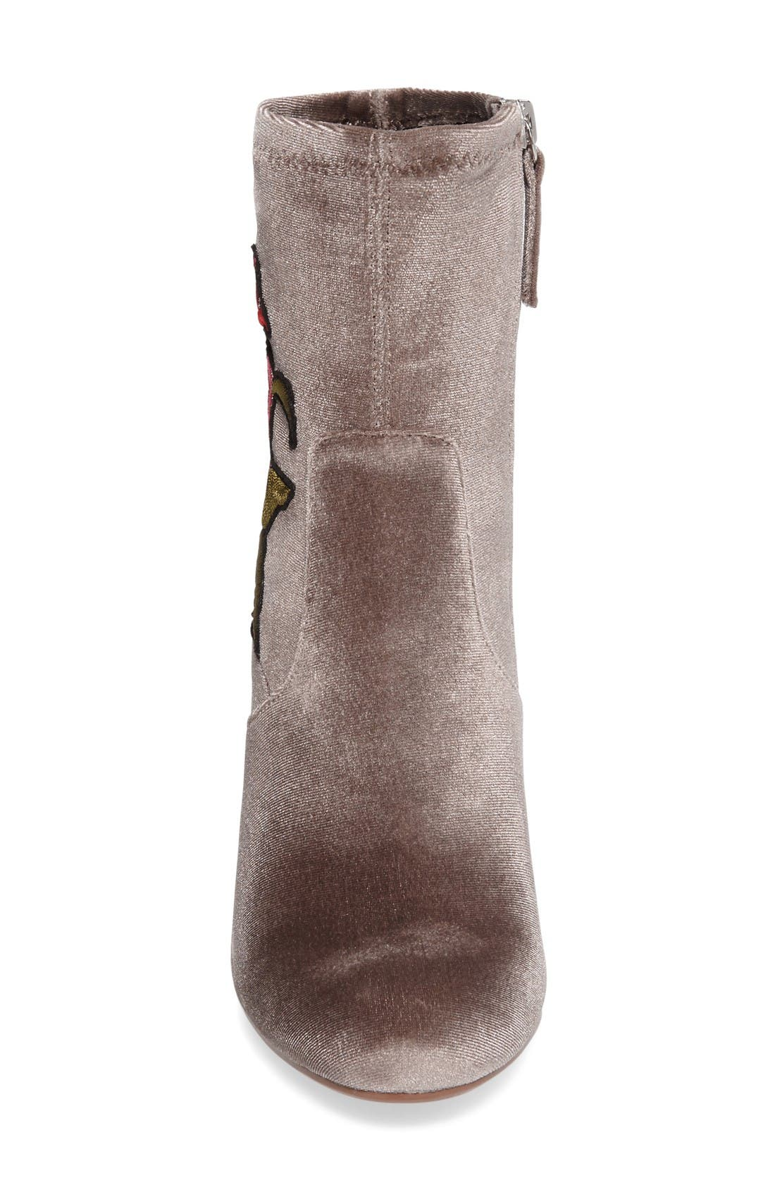 Alternate Image 3  - Steve Madden Edition Embroidered Bootie (Women)