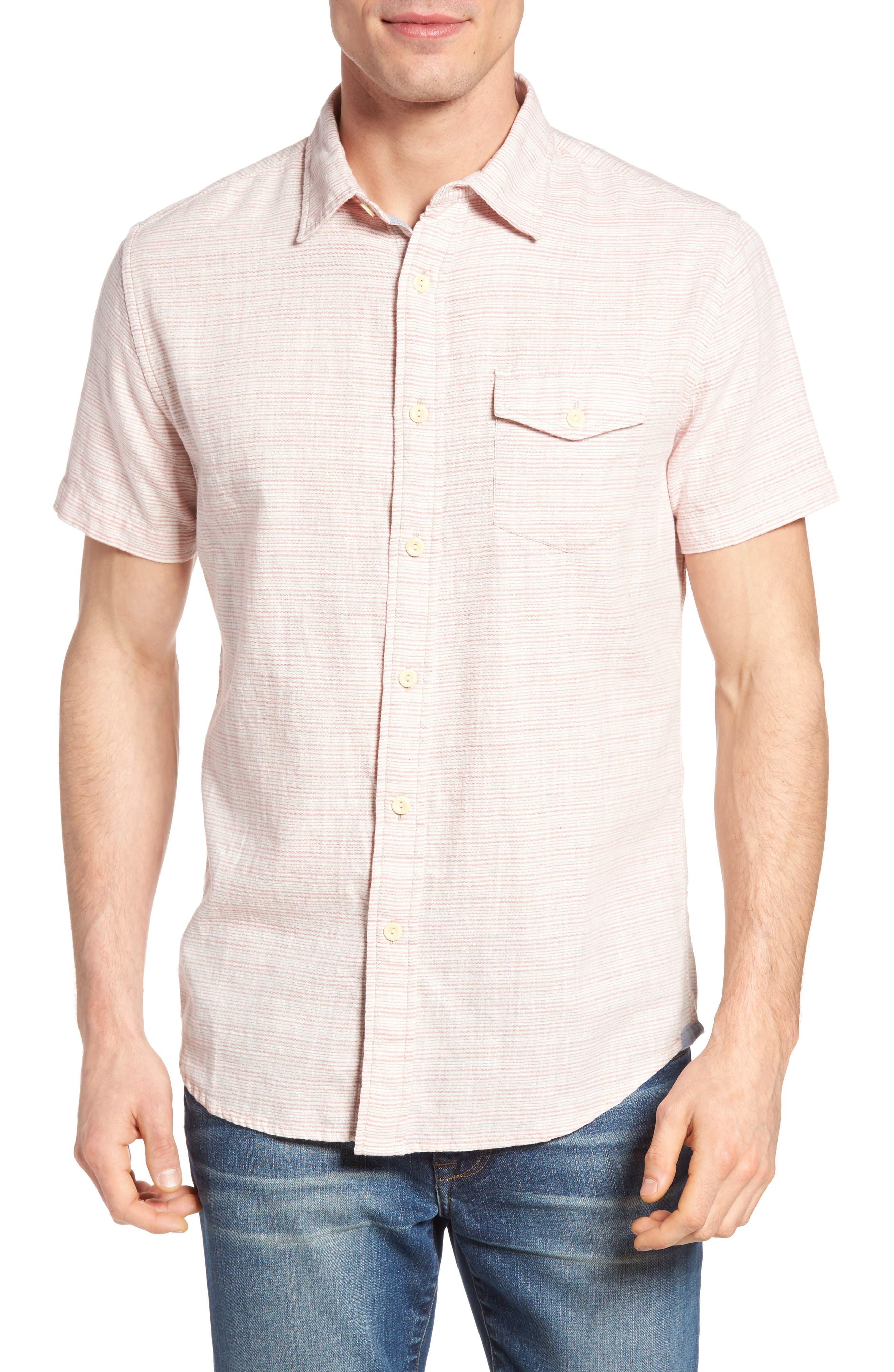 Grayers Horizon Stripe Sport Shirt
