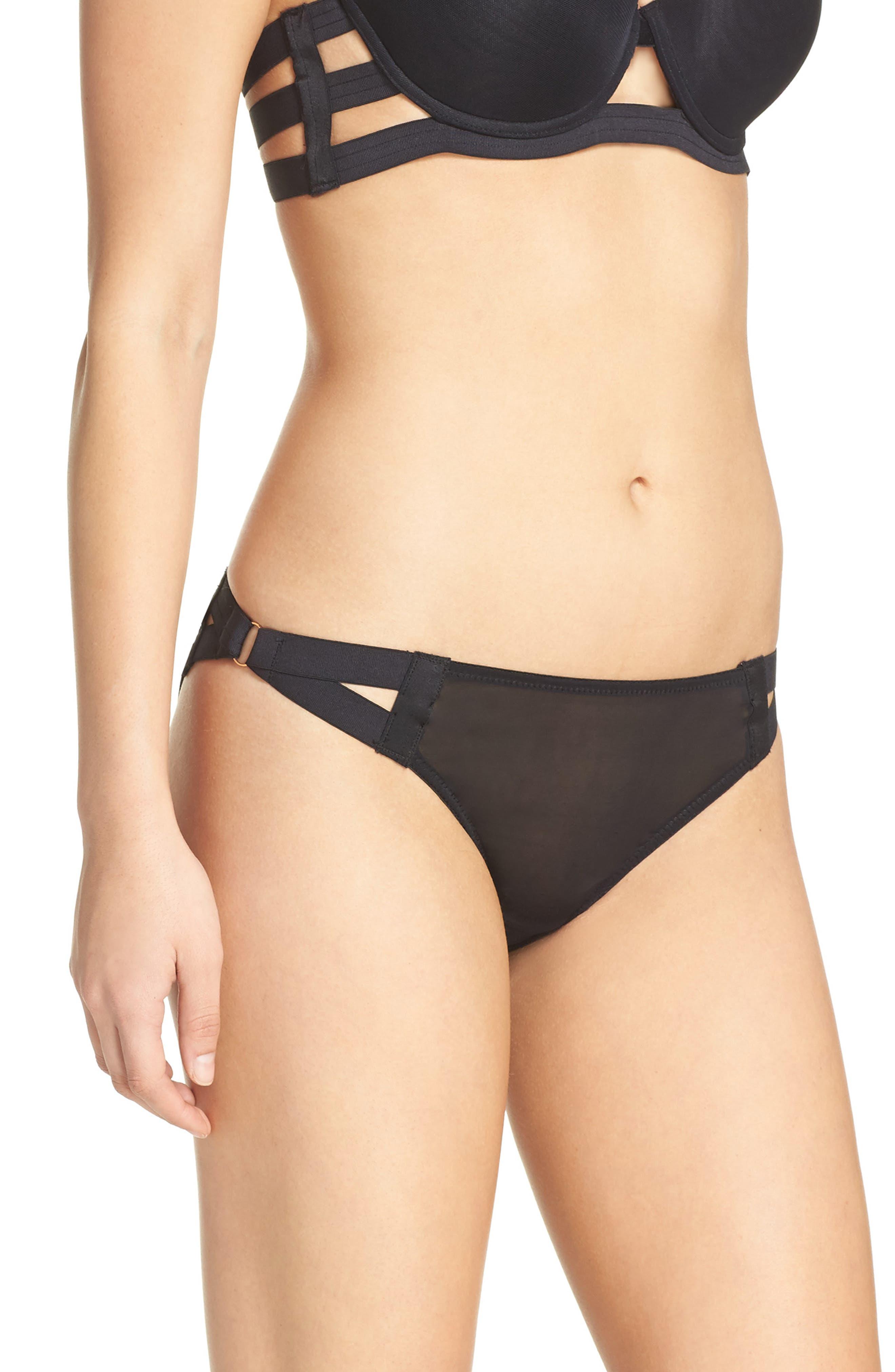 Aura Bikini,                             Alternate thumbnail 3, color,                             Black