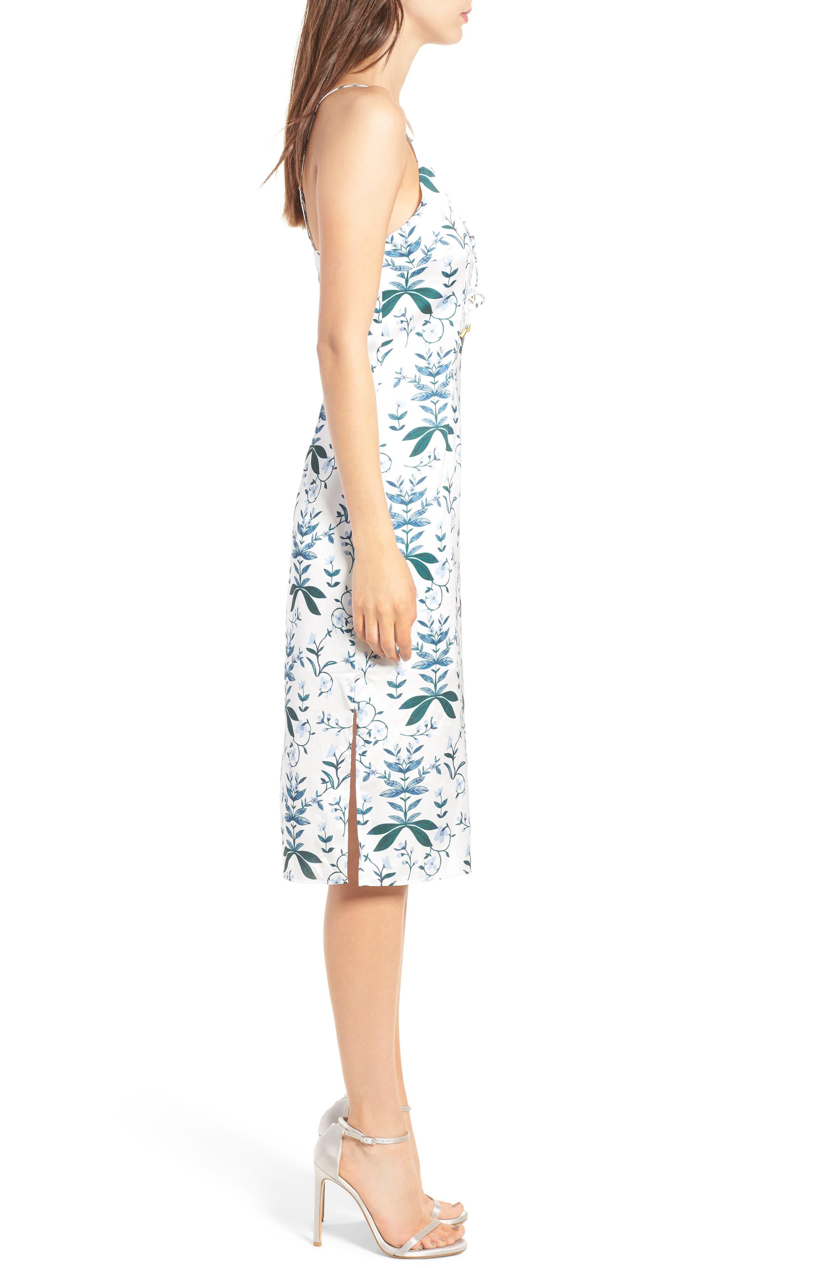 Alternate Image 4  - Keepsake the Label Keeping Score Midi Dress