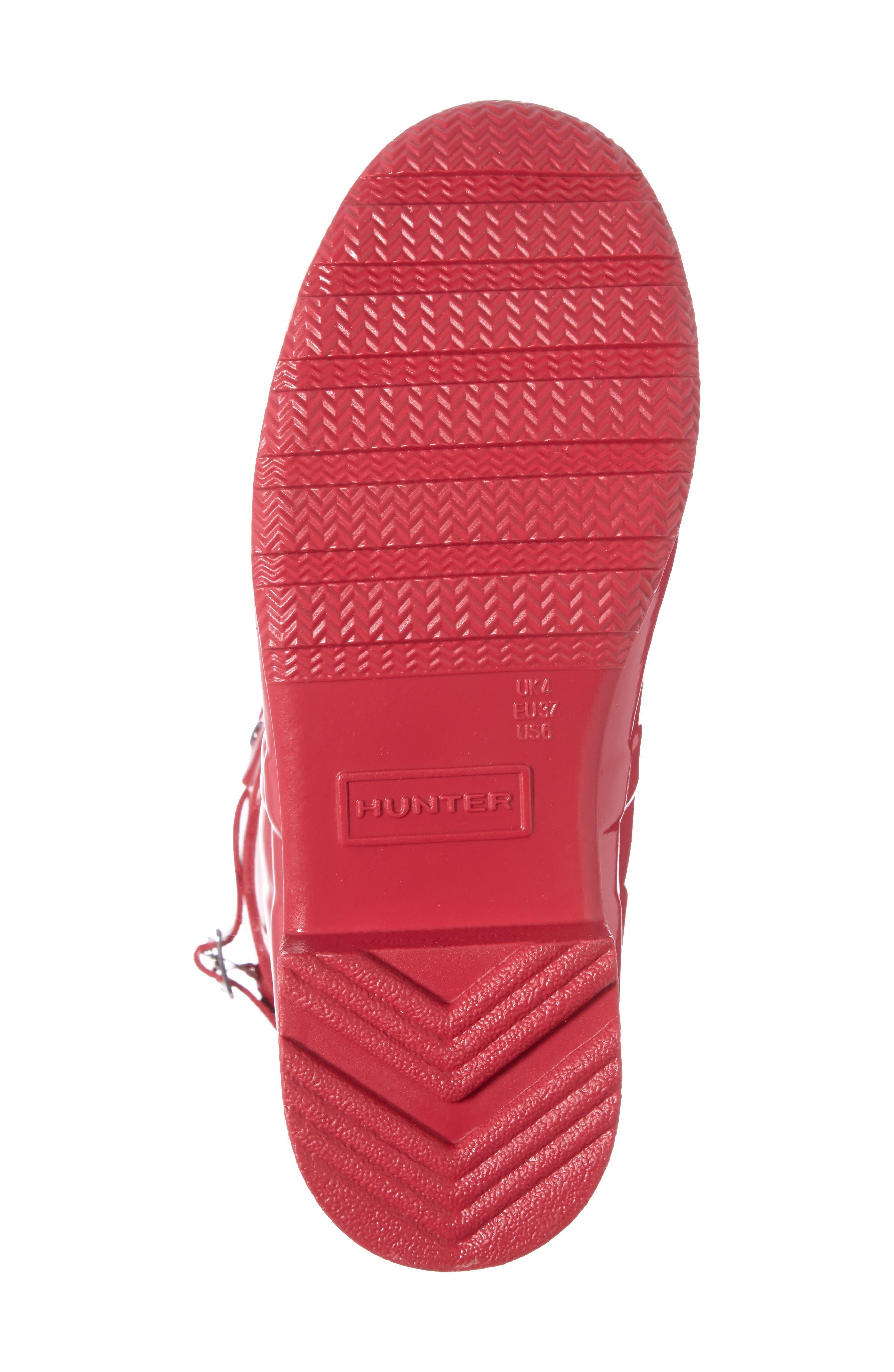 Alternate Image 4  - Hunter Original Tour Short Gloss Packable Rain Boot (Women)