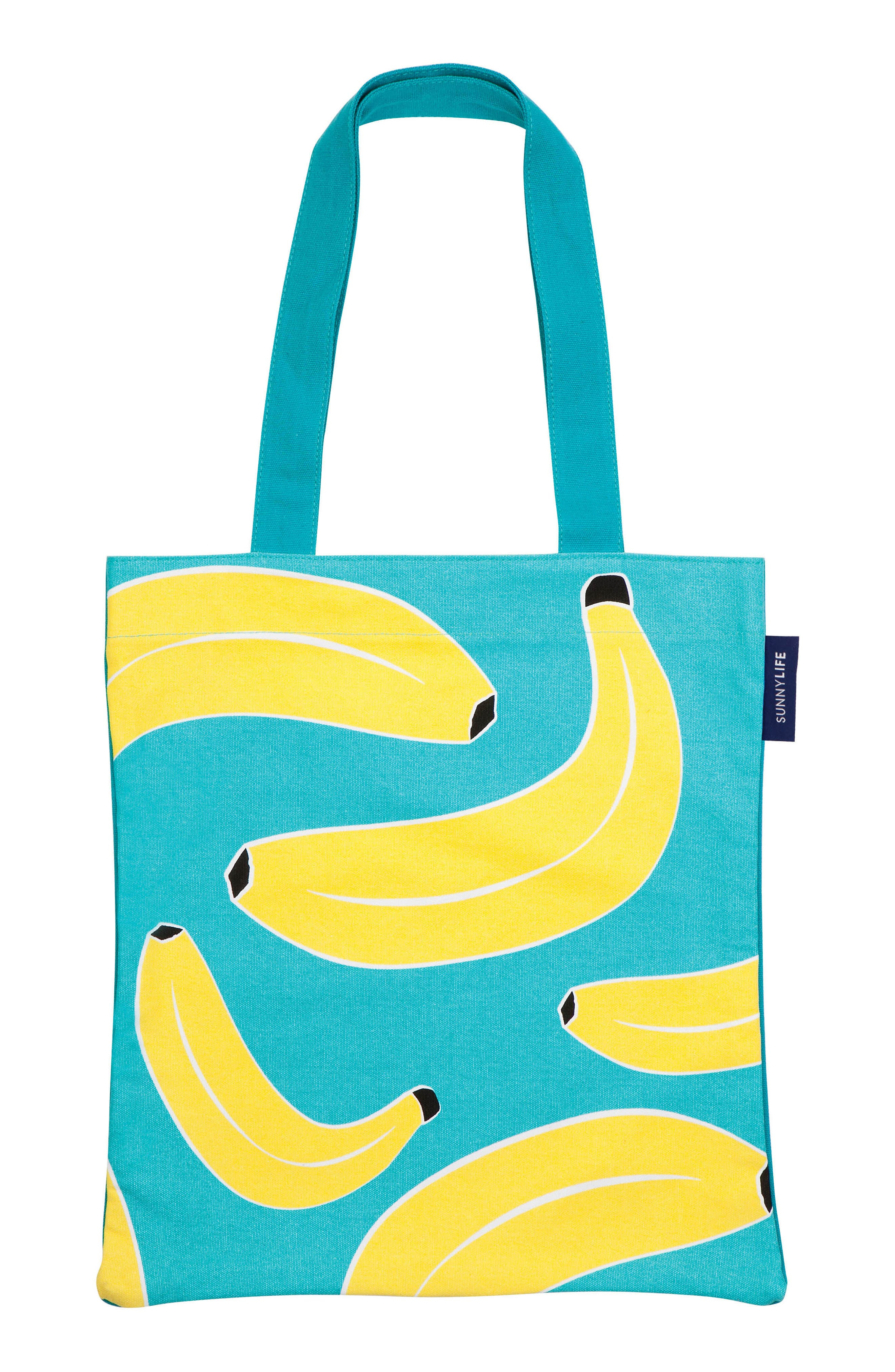 Alternate Image 1 Selected - Sunnylife Print Canvas Tote