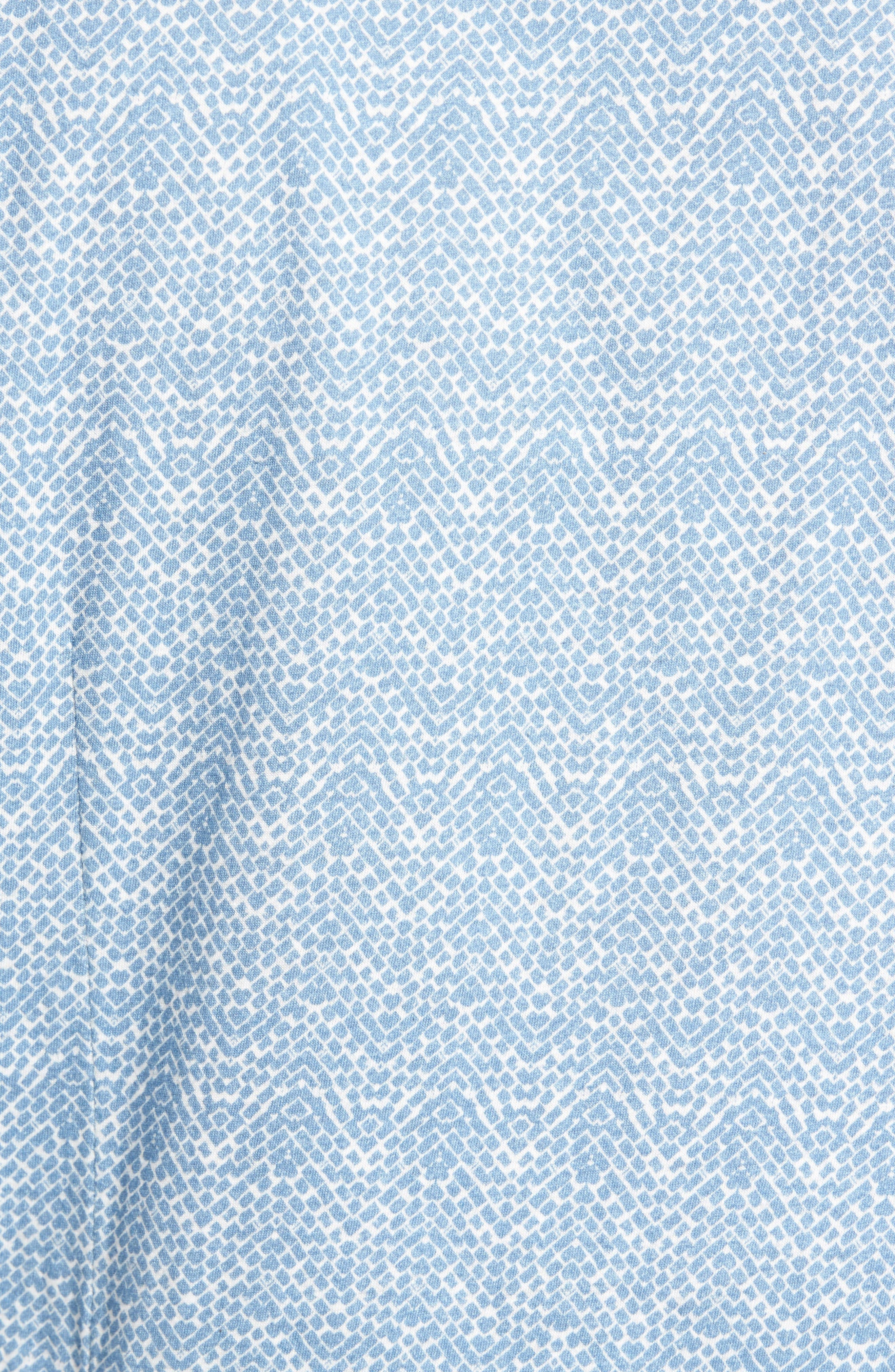 Alternate Image 5  - W.R.K Metropolitan Brick Slim Fit Linen Sport Shirt