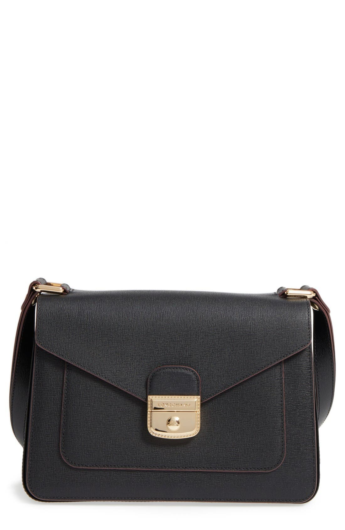 Main Image - Longchamp Pliage Heritage Leather Shoulder Bag