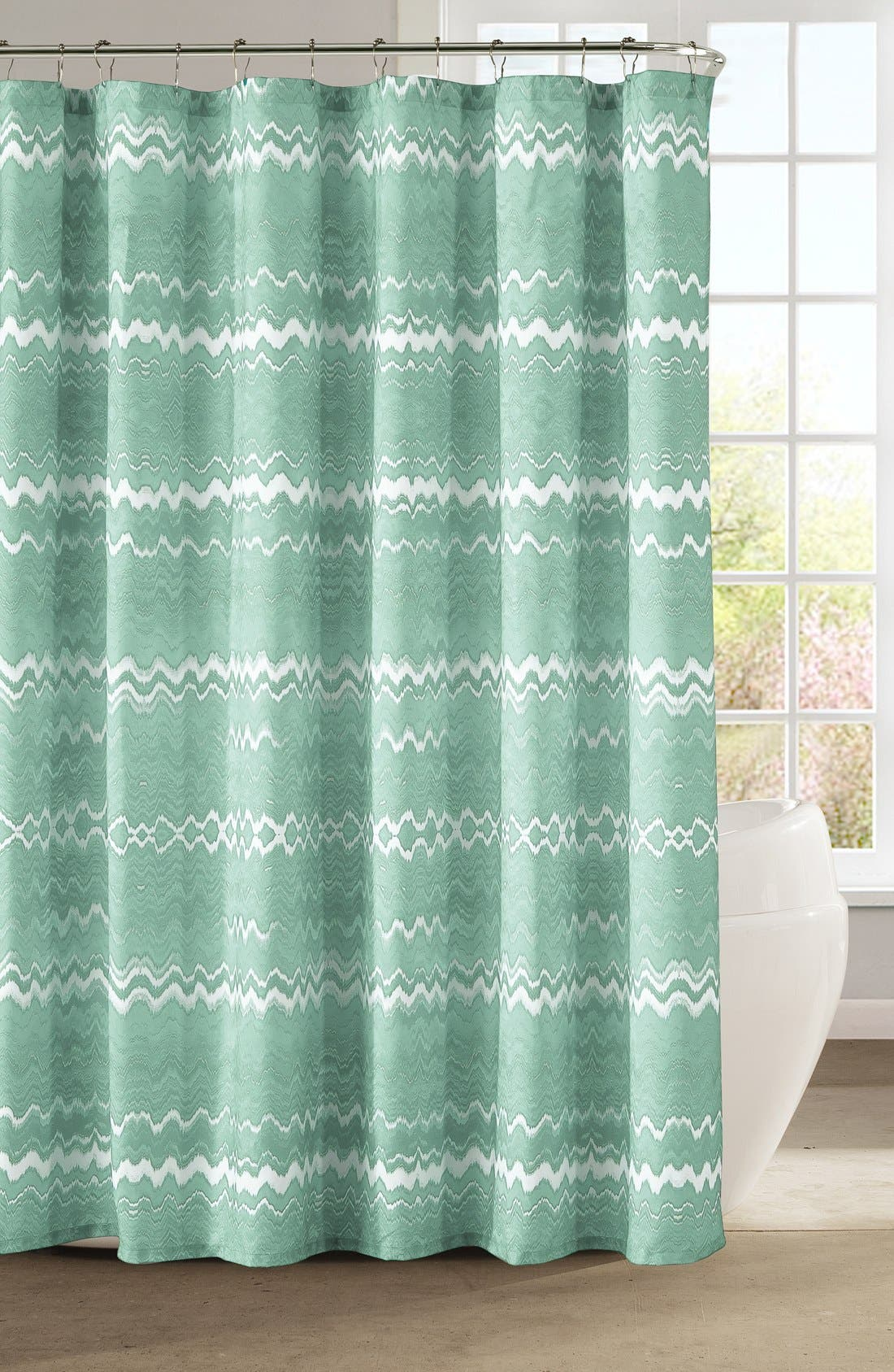 Main Image - kensie 'Mikaela' Shower Curtain
