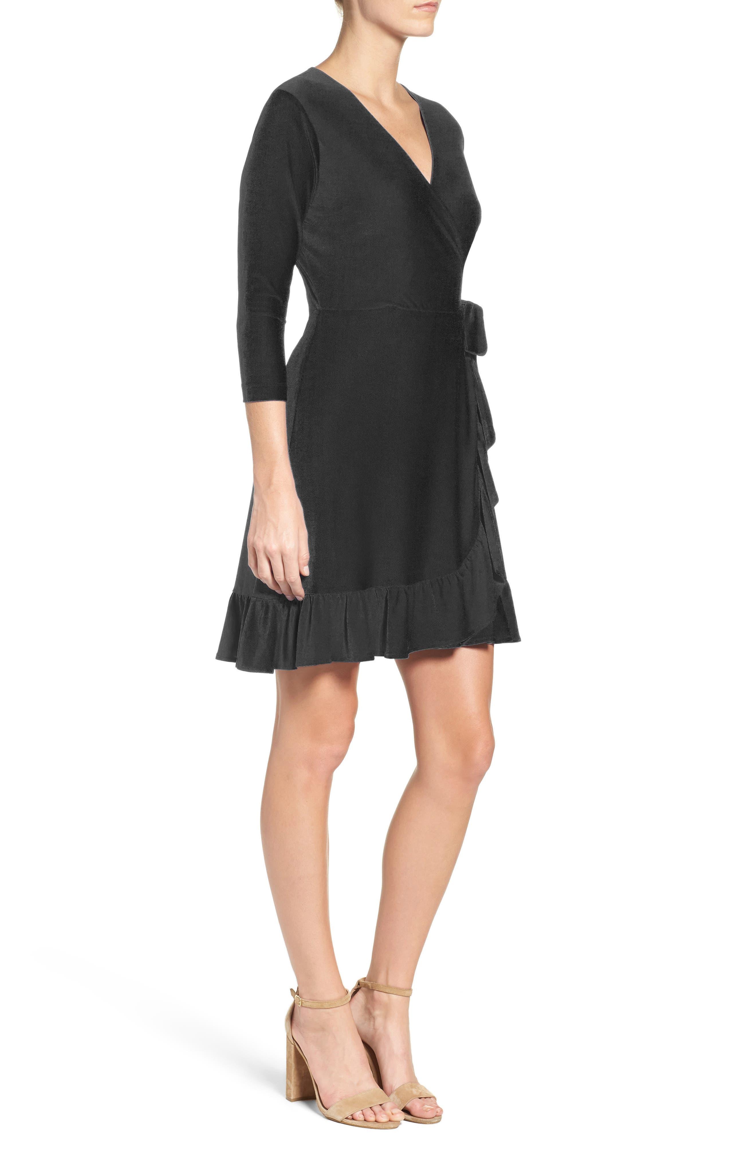 Alternate Image 3  - ECI Wrap Dress