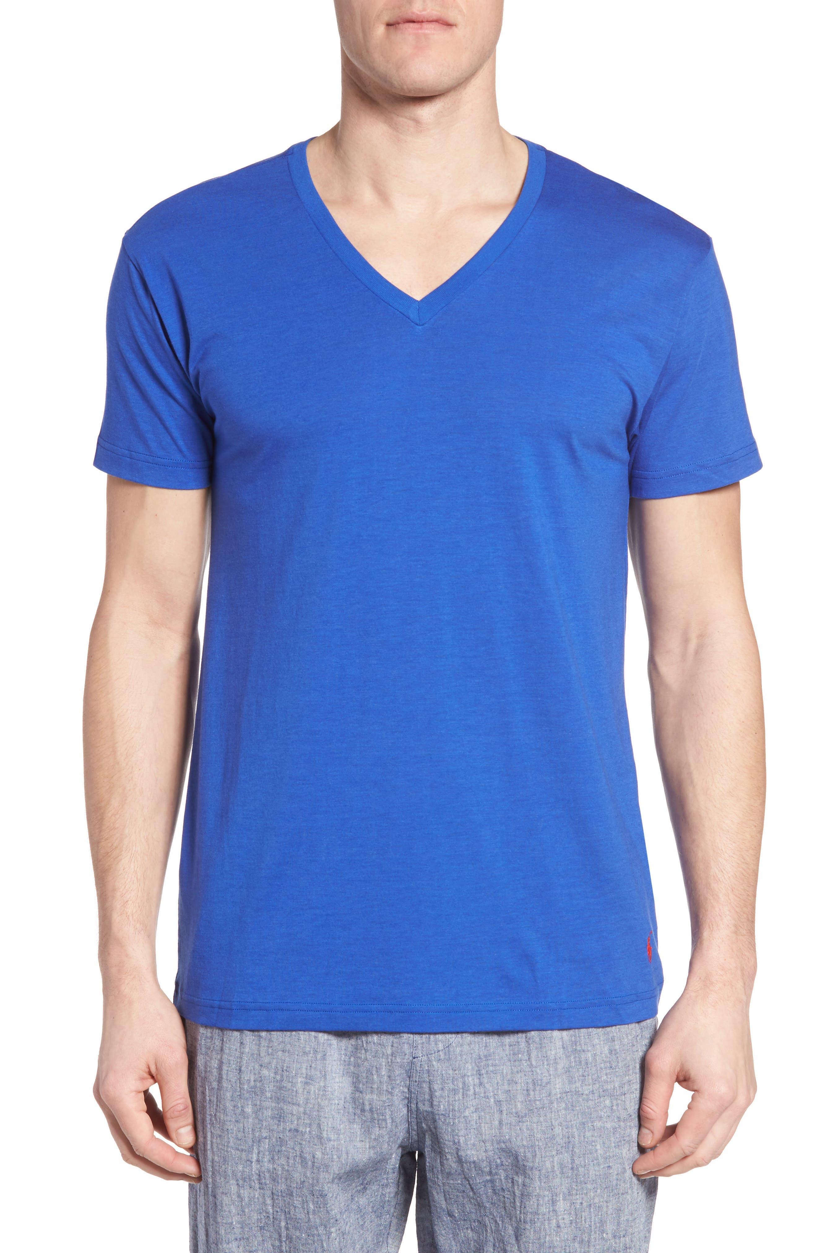 Main Image - Polo Ralph Lauren Lounge V-Neck T-Shirt