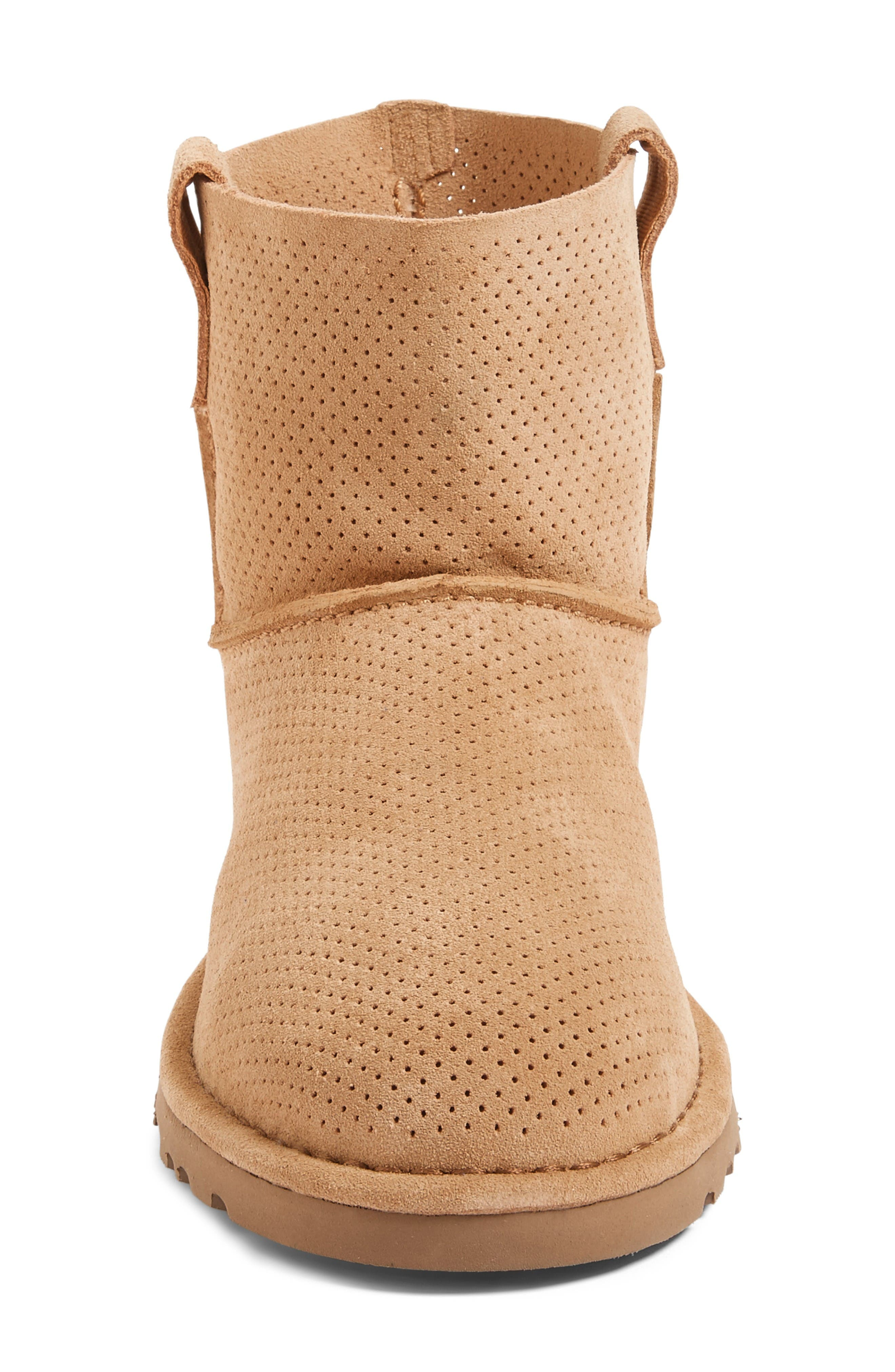 Alternate Image 3  - UGG® Classic Unlined Mini Perf Boot (Women)
