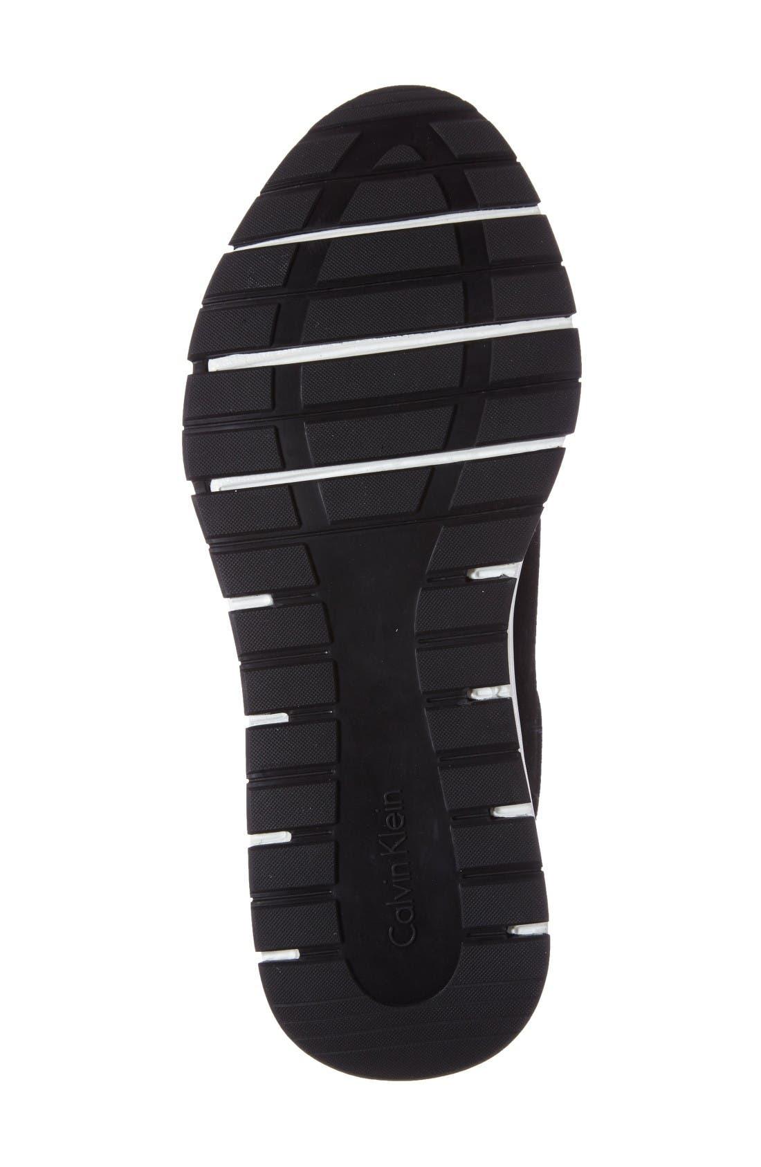 Kingsley Chukka Sneaker,                             Alternate thumbnail 4, color,                             Black