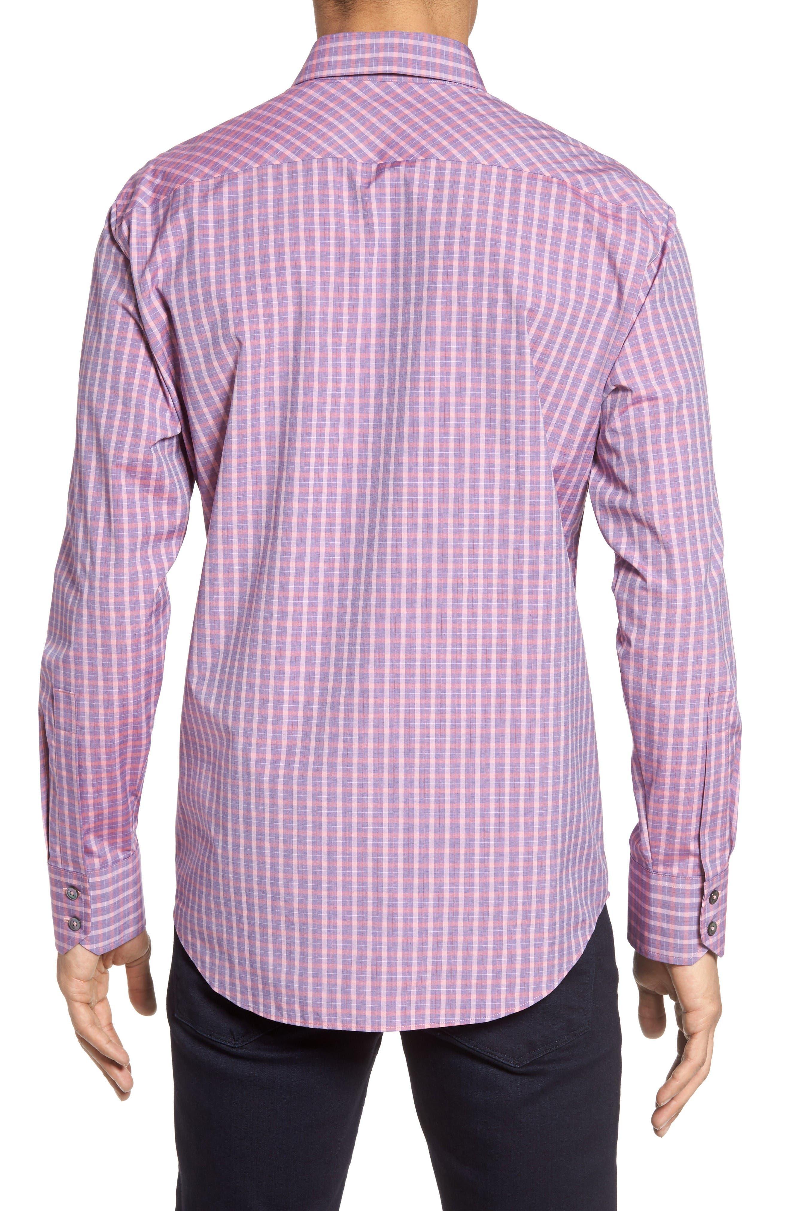 Alternate Image 3  - Zachary Prell Trim Fit Plaid Sport Shirt
