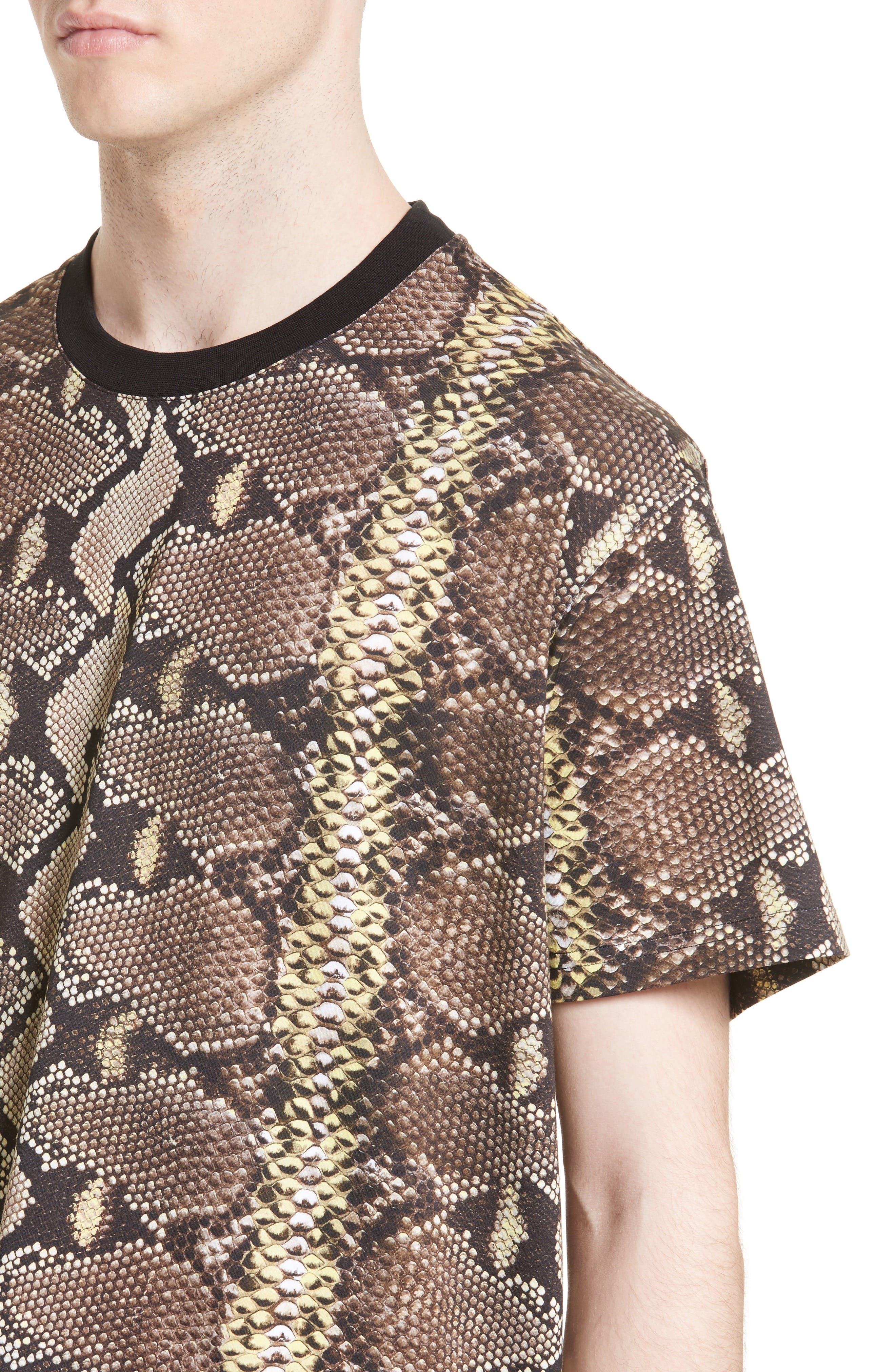 Alternate Image 4  - Givenchy Python Print T-Shirt