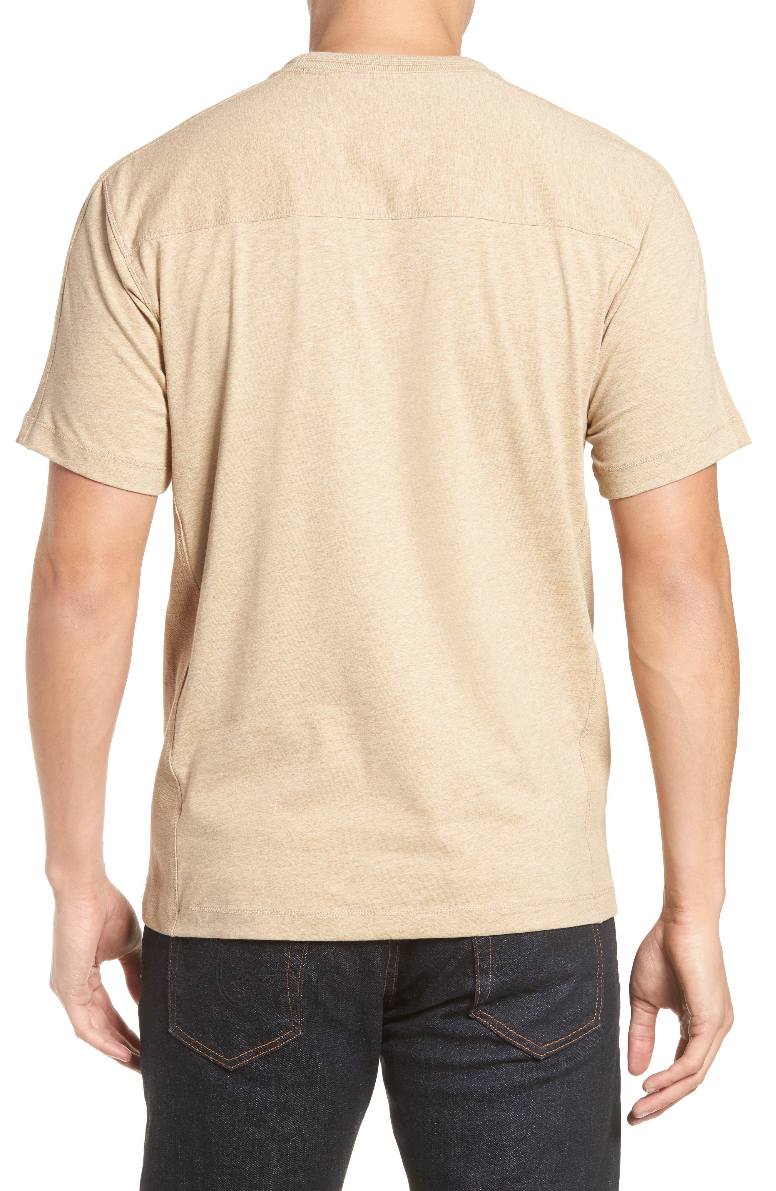 Alternate Image 2  - Thaddeus Steve Stretch Jersey T-Shirt