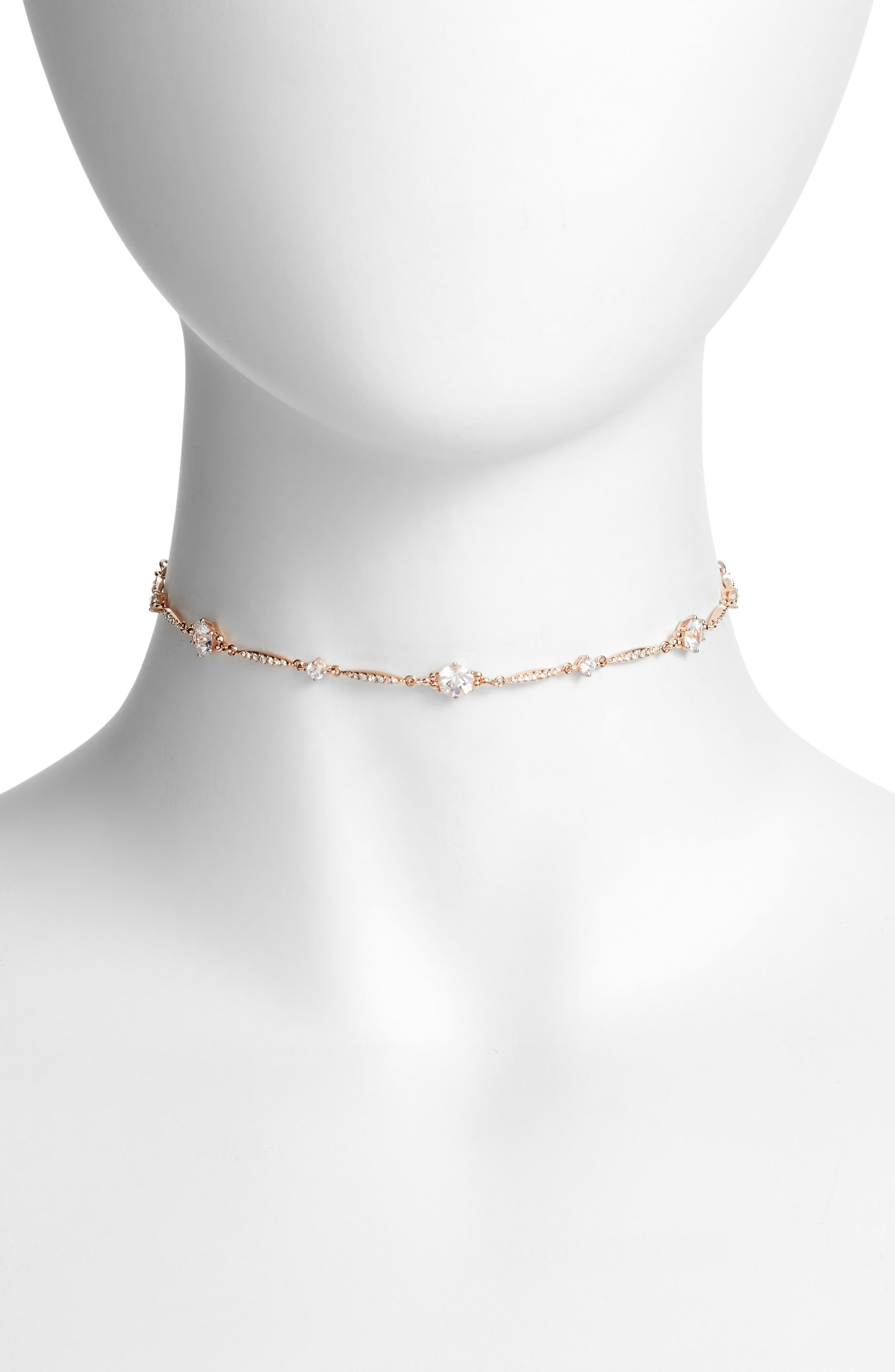 Alternate Image 1 Selected - Nadri Cardamom Crystal Choker